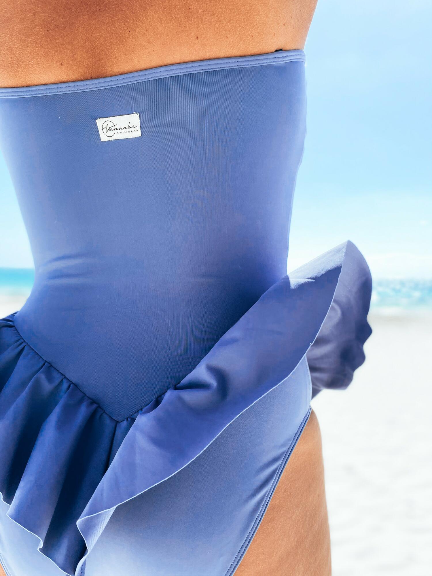 JULIETTA Lavender blue - Wannabe Swimwear | JestemSlow.pl