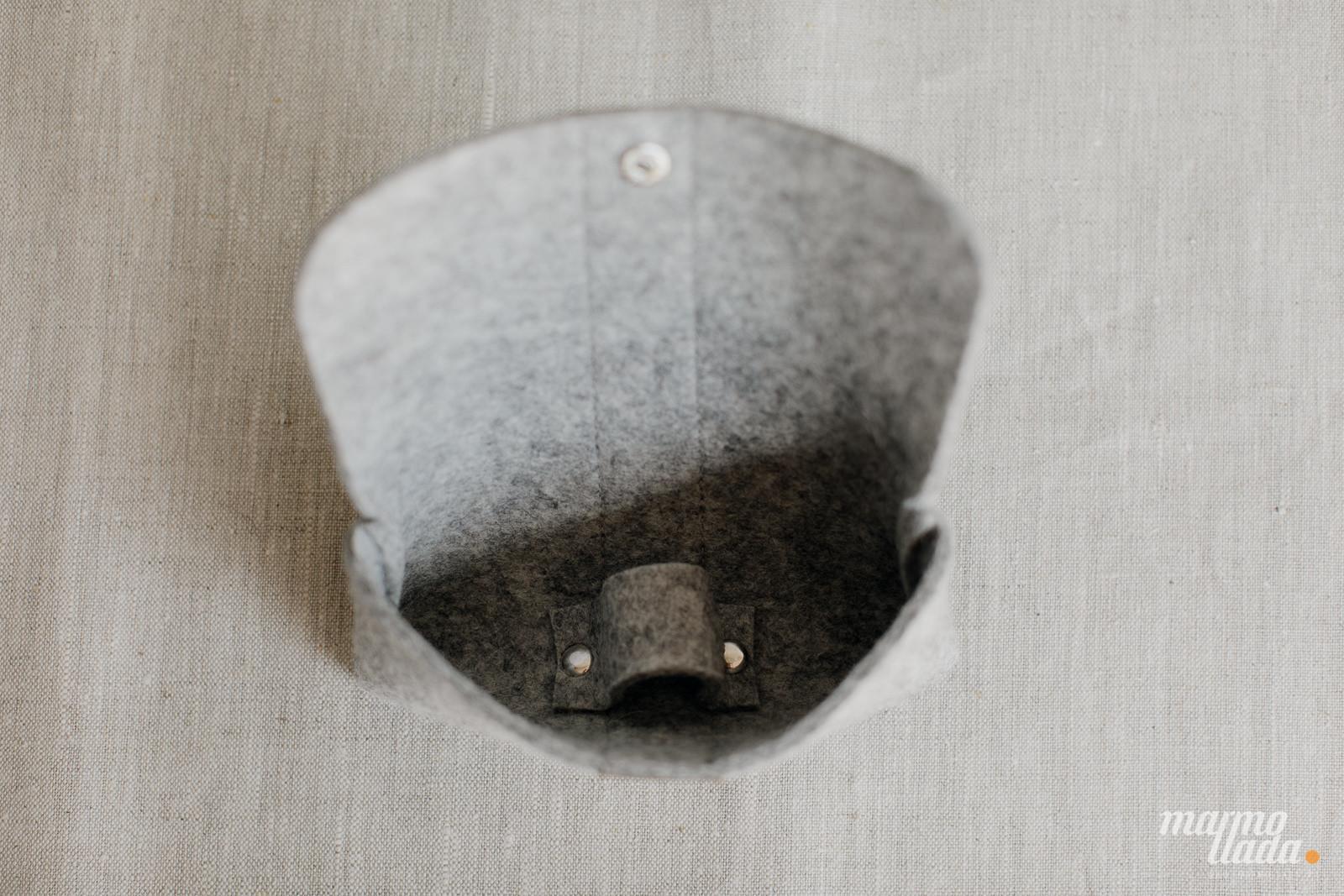 marmollada - etui filcowe NA OKULARY z piaskowymi dodatkami - Marmollada