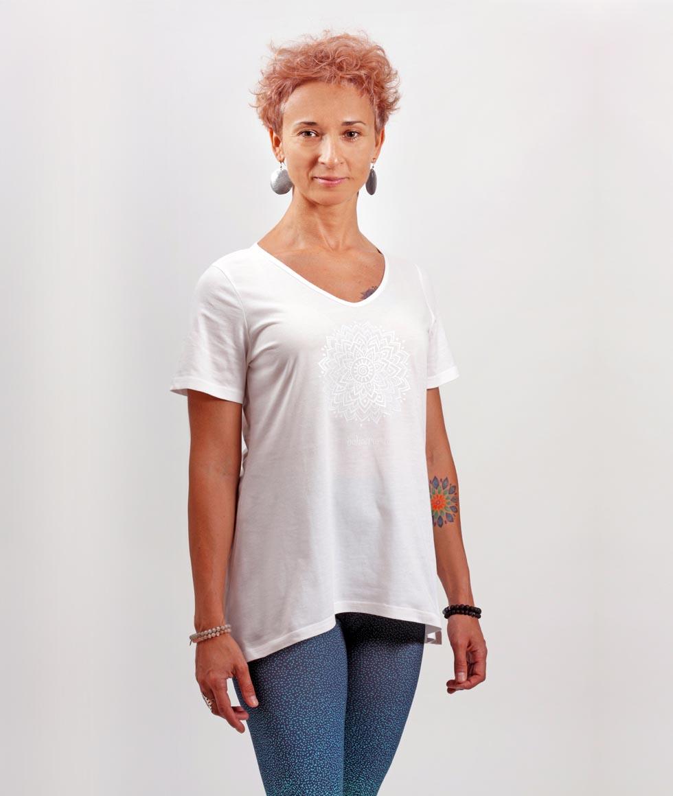 T-shirt damski Sahasrara - 7LEVELS