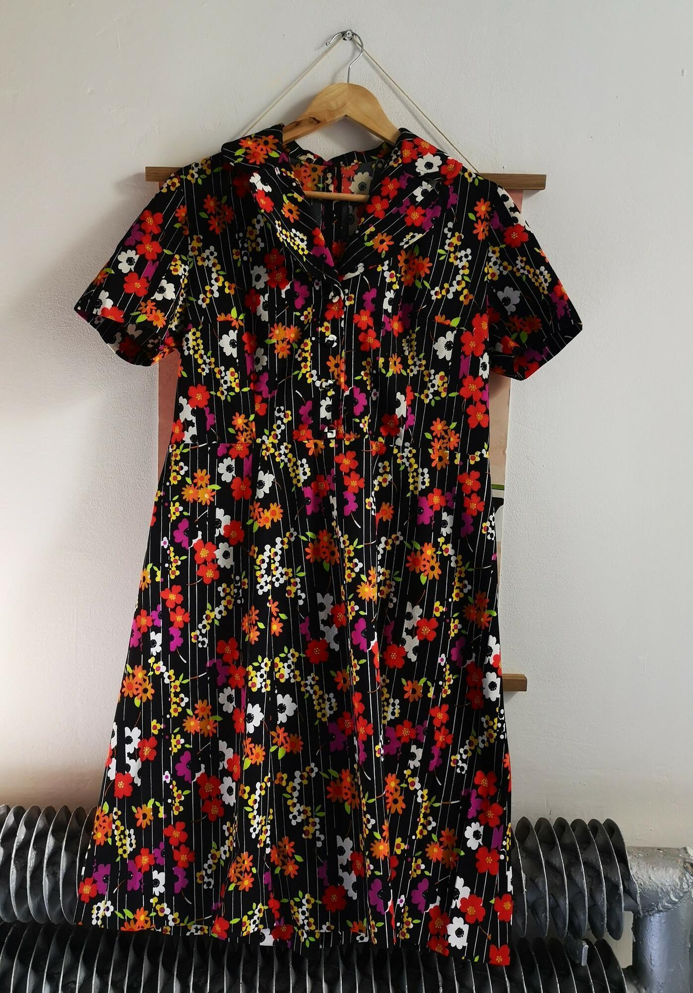 sukienka vintage podomka - Nie byle   JestemSlow.pl