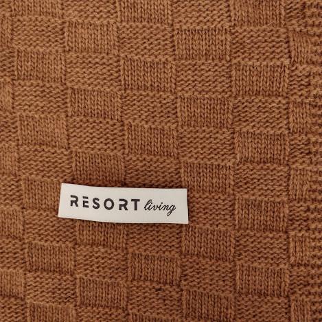KOC CHECK CAMEL - Resort Living