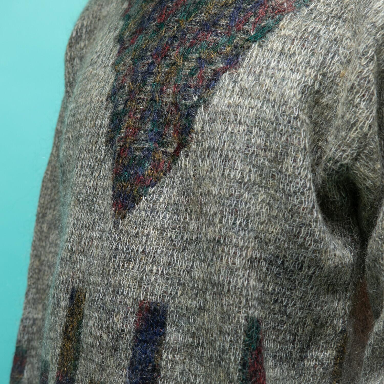 Szary sweter z moheru Host - KEX Vintage Store | JestemSlow.pl