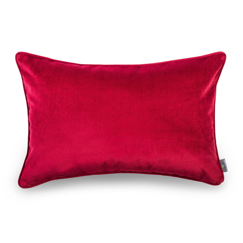 Poduszka dekoracyjna Elegant Burgundy 40x60 cm - We Love Candles&We Love Beds