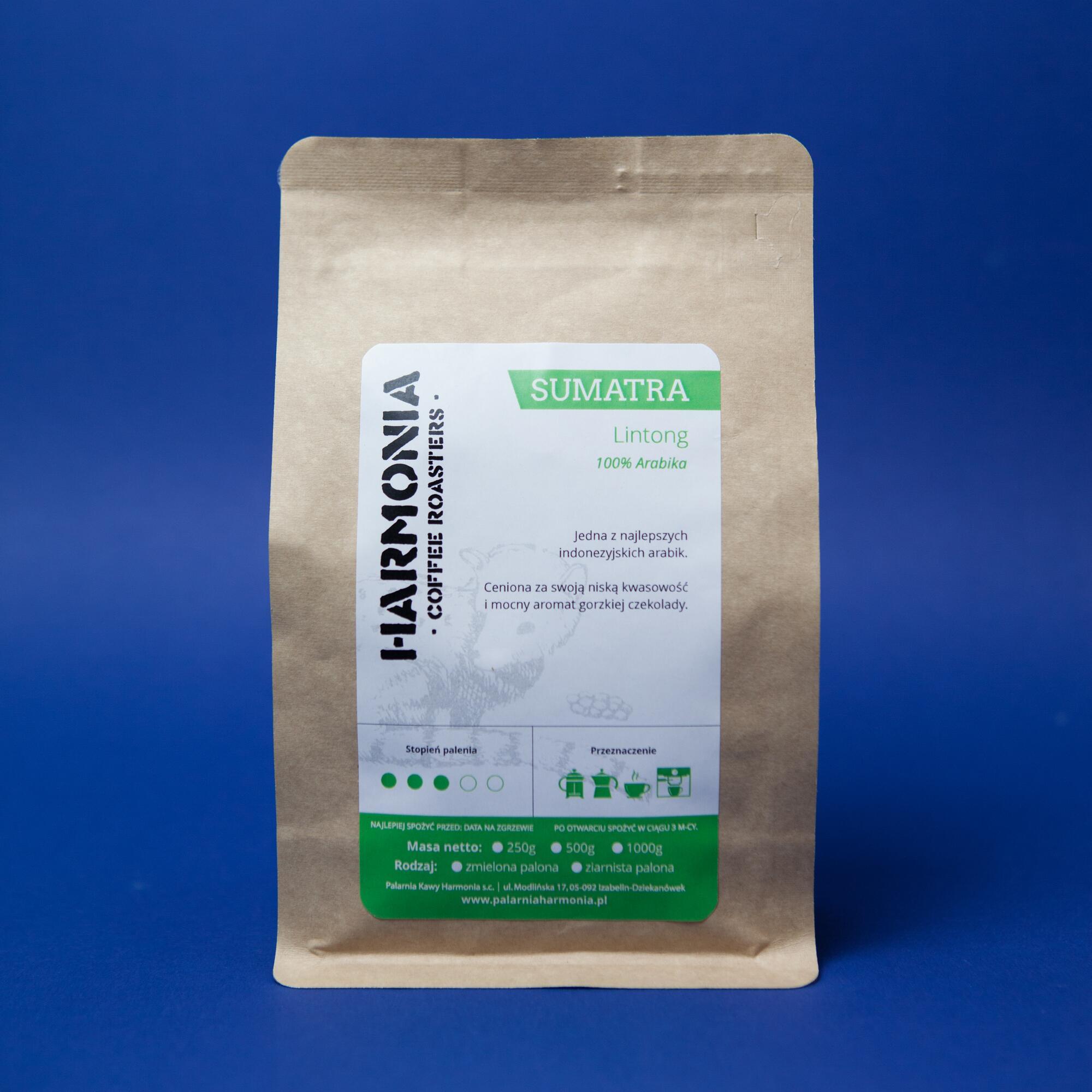 Harmonia Sumatra Lintong 250g - Coffee Gang   JestemSlow.pl