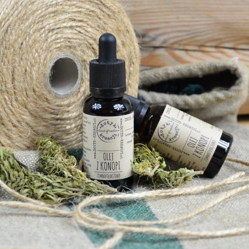 Olej z nasion KONOPI Bio - Dotyk Kreacji