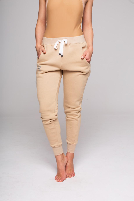 Spodnie BEIGE TULIP - LILY ZEAL