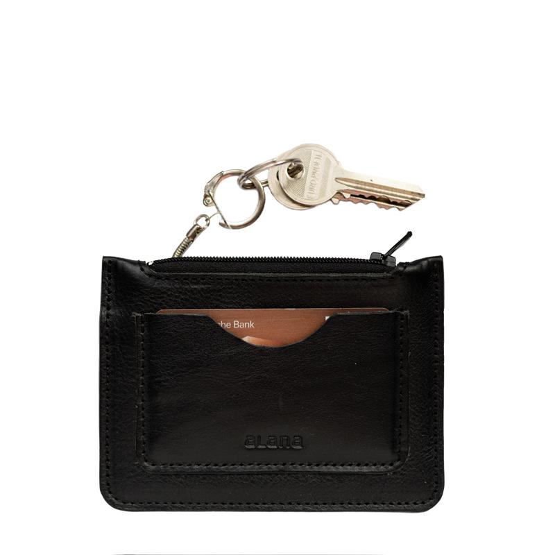 Saszetka na klucze z kieszonką na kartę - Alana