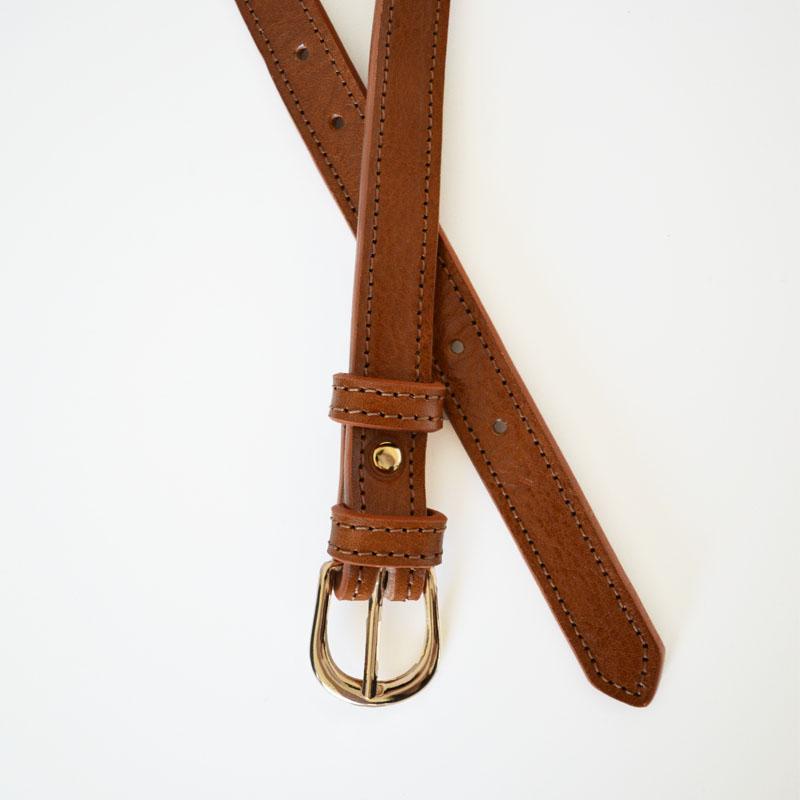 Skórzany pasek, szerokość 1,9 cm - Alana