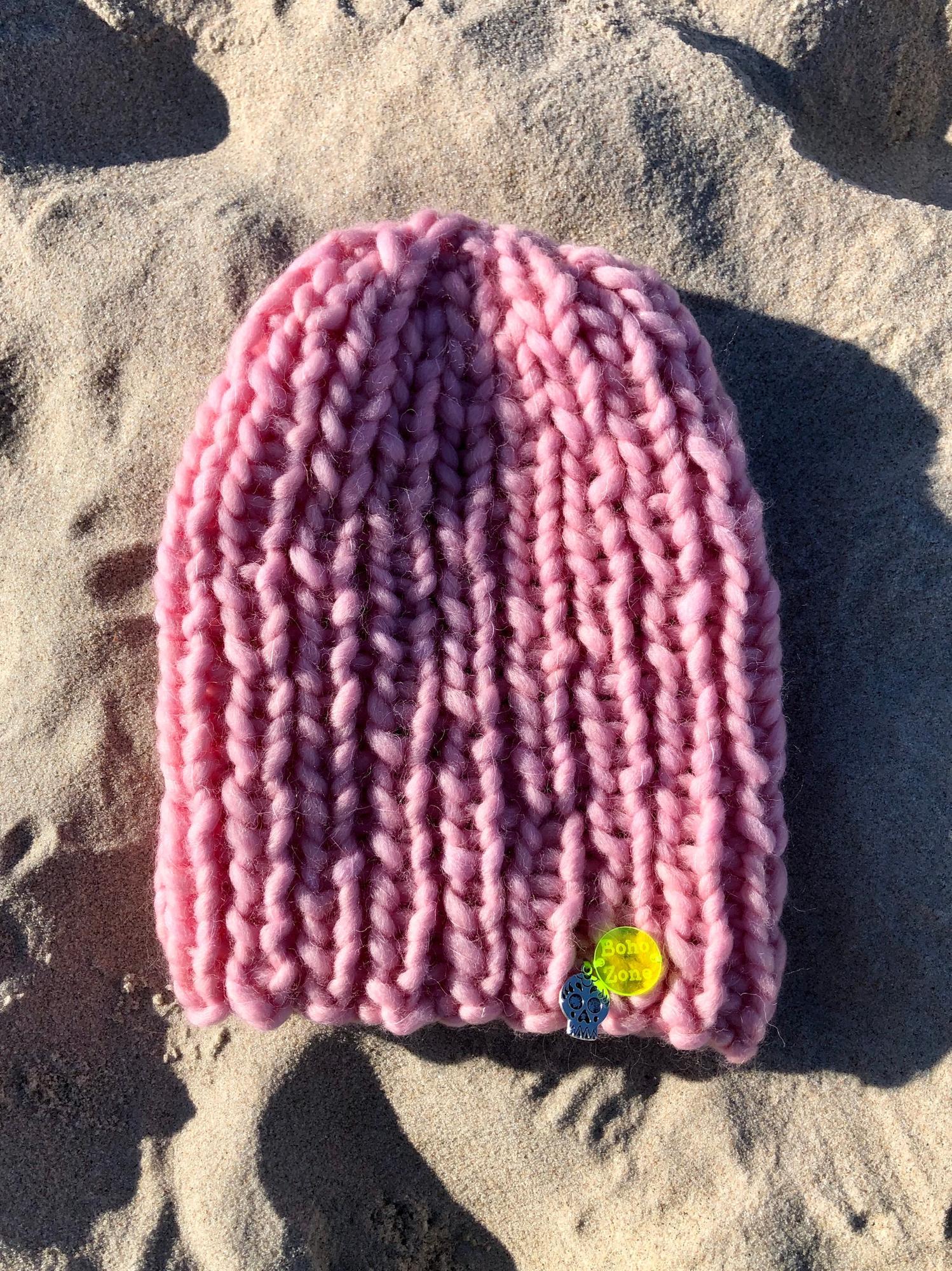 Baby Pink - 100% wool - BohoZone   JestemSlow.pl