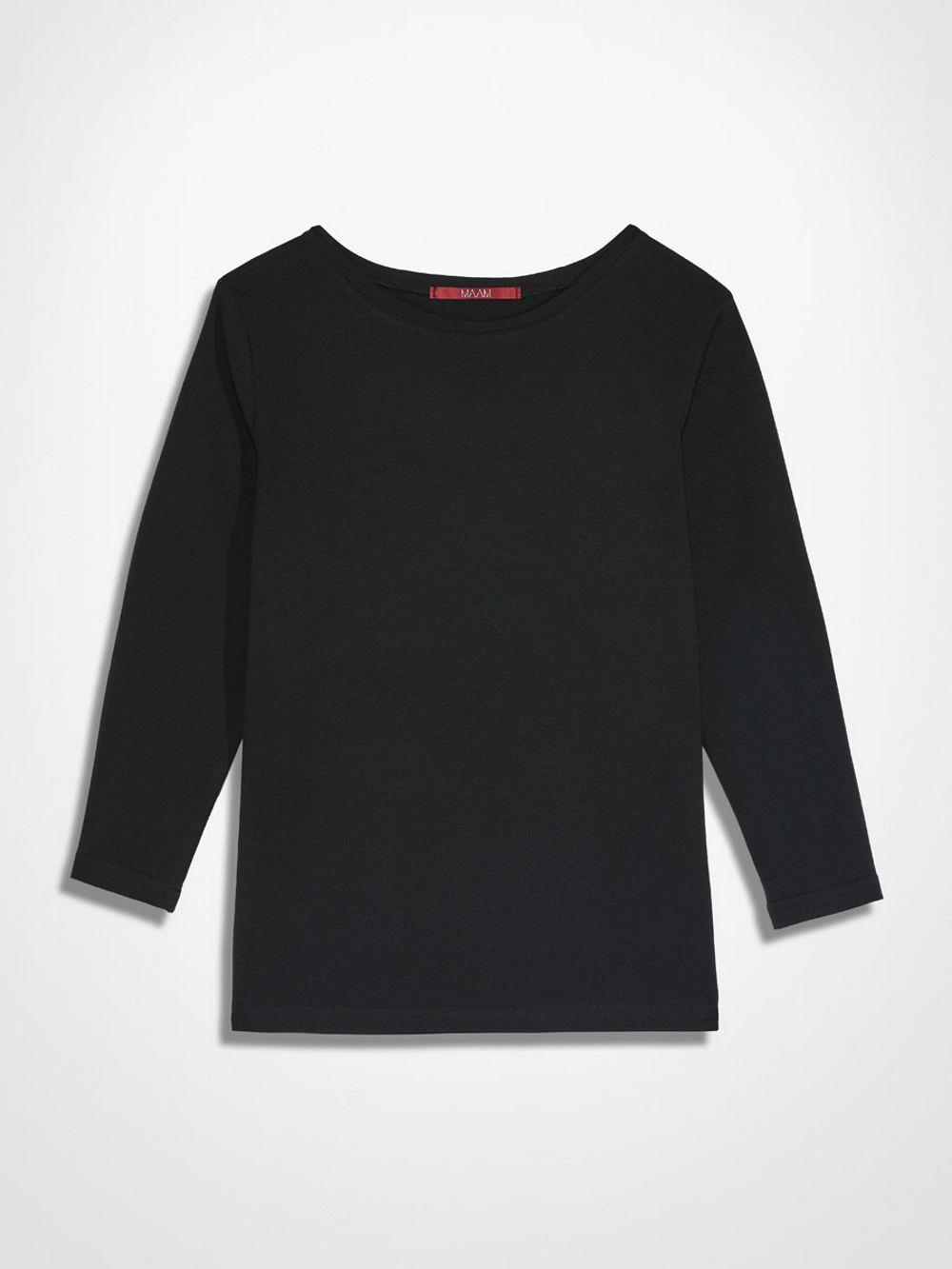 Czarny B-shirt MAAM 10º - MAAM