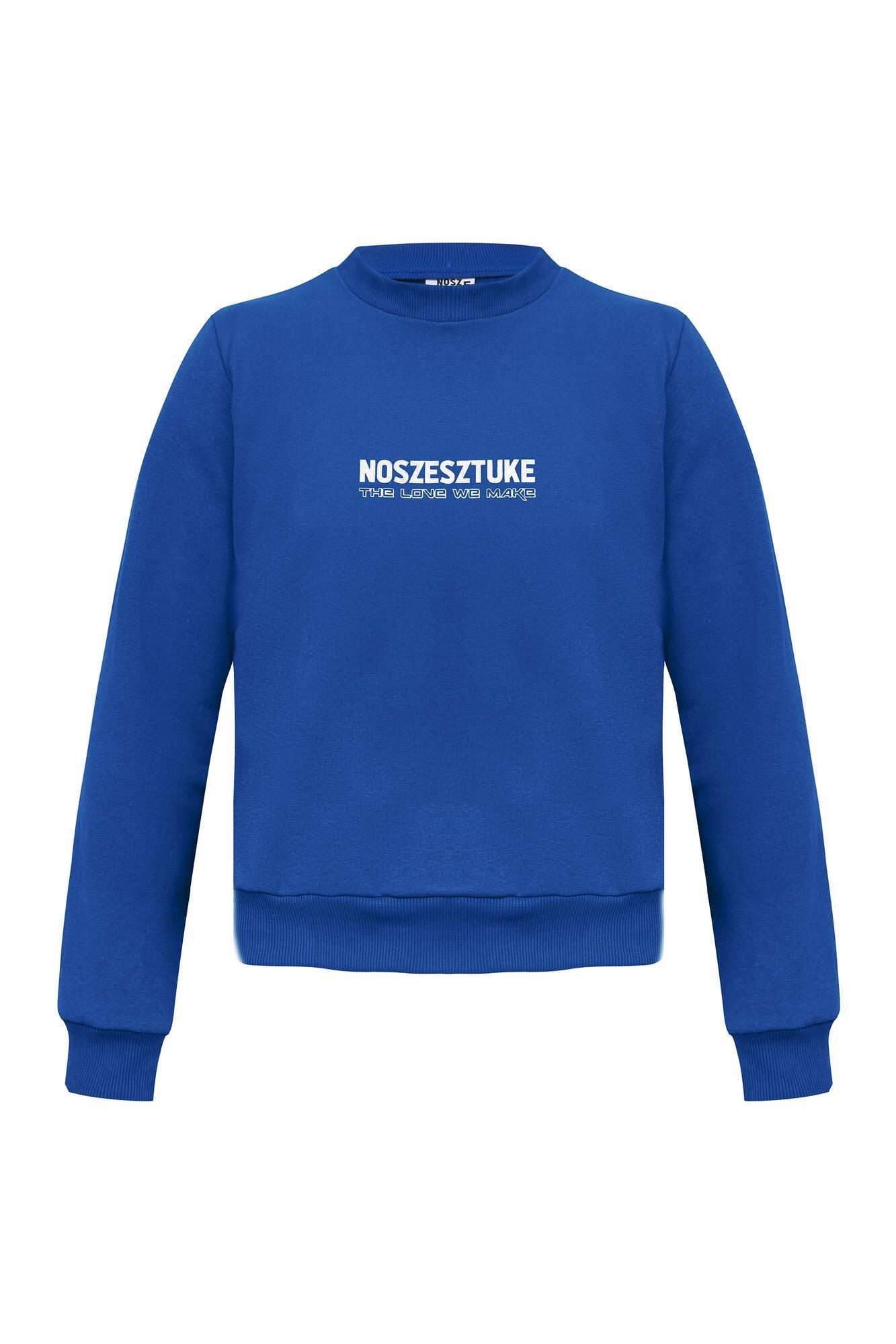 Bluza ASTRO classic blue - noszesztuke   JestemSlow.pl