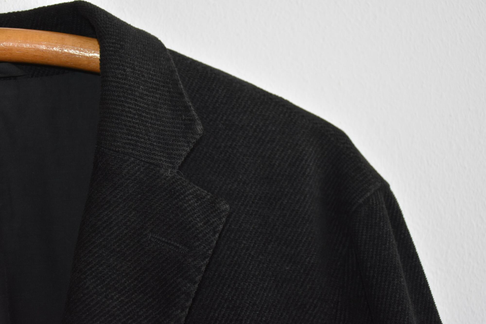 Hugo Boss czarna marynarka - PONOŚ SE vintage shop | JestemSlow.pl