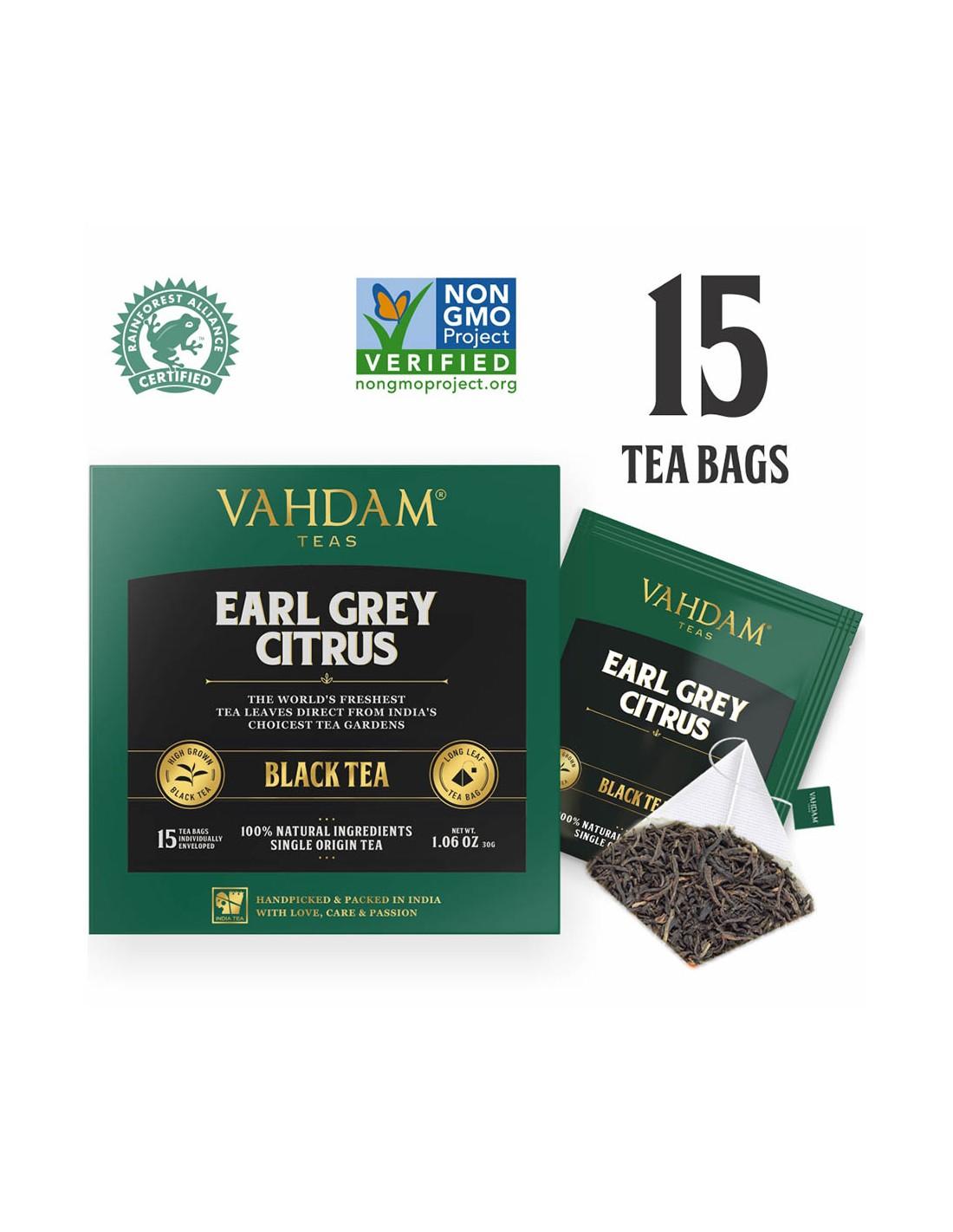 Earl Grey Citrus Black Tea - Republika Smaków Sp. z o.o.