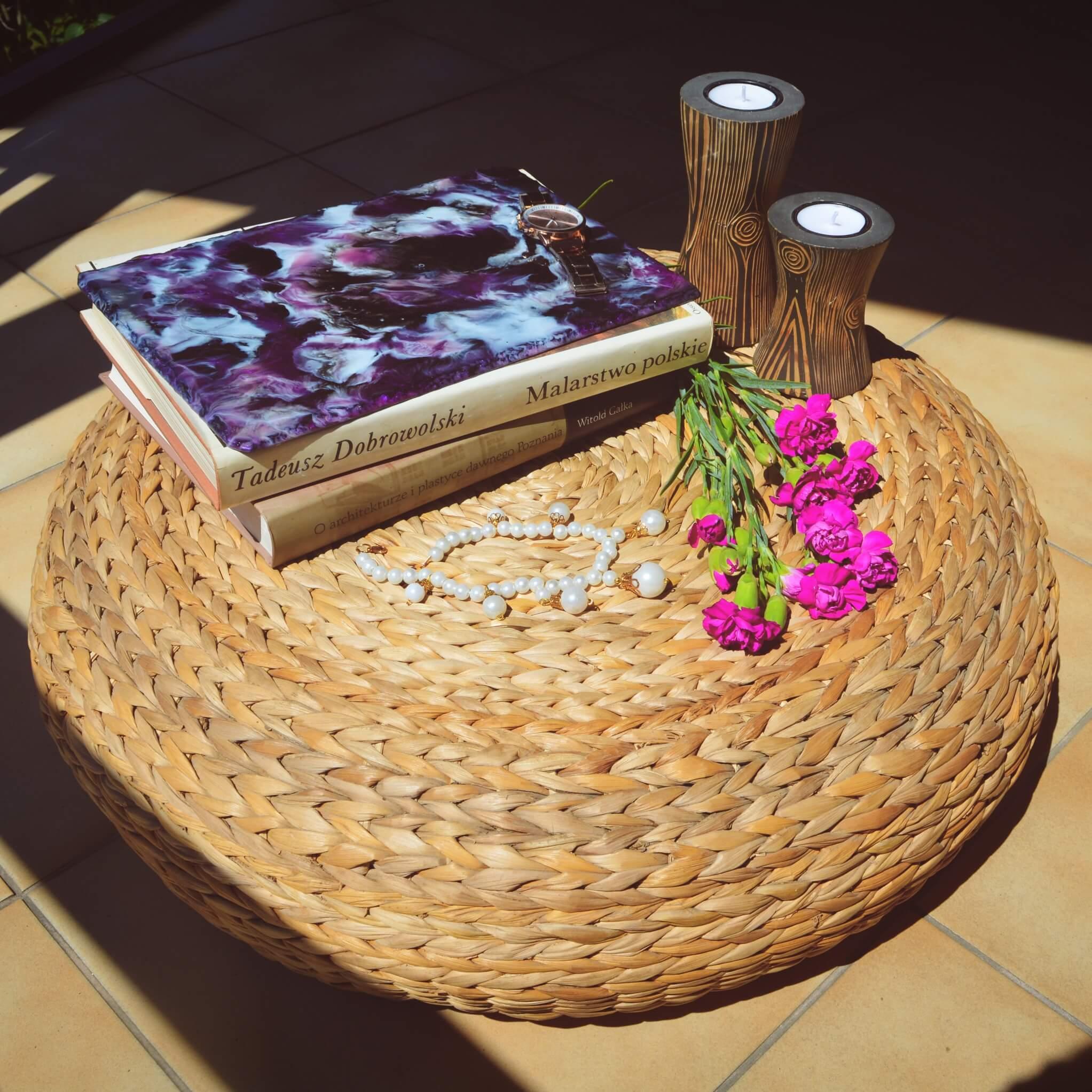 Taca ozdobna na świeczki, biżuterię, Rękodzieło PL - Moami Design | JestemSlow.pl