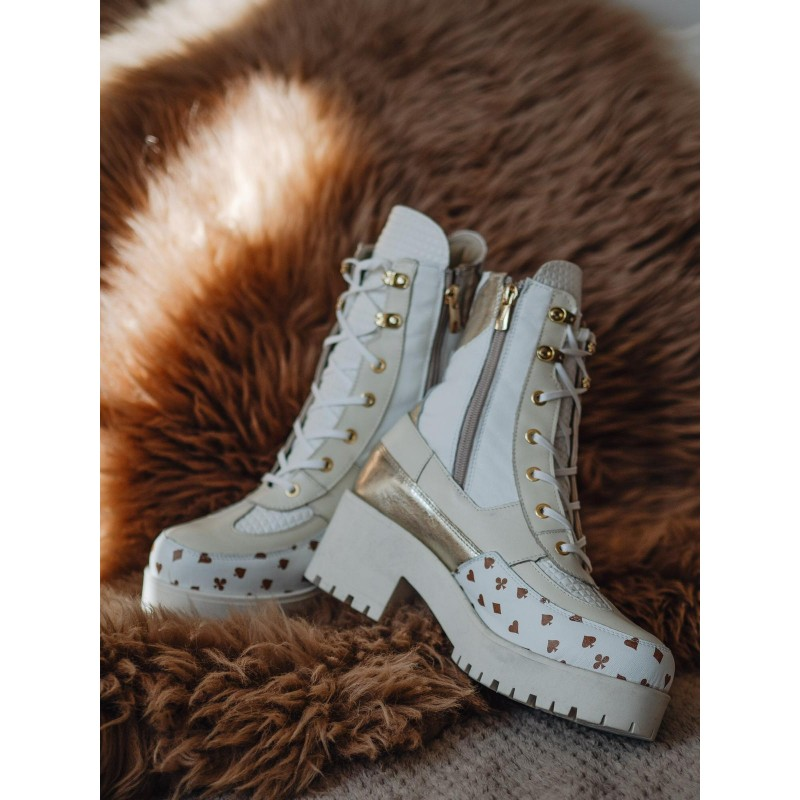 Lady Peak White - marshall shoes | JestemSlow.pl