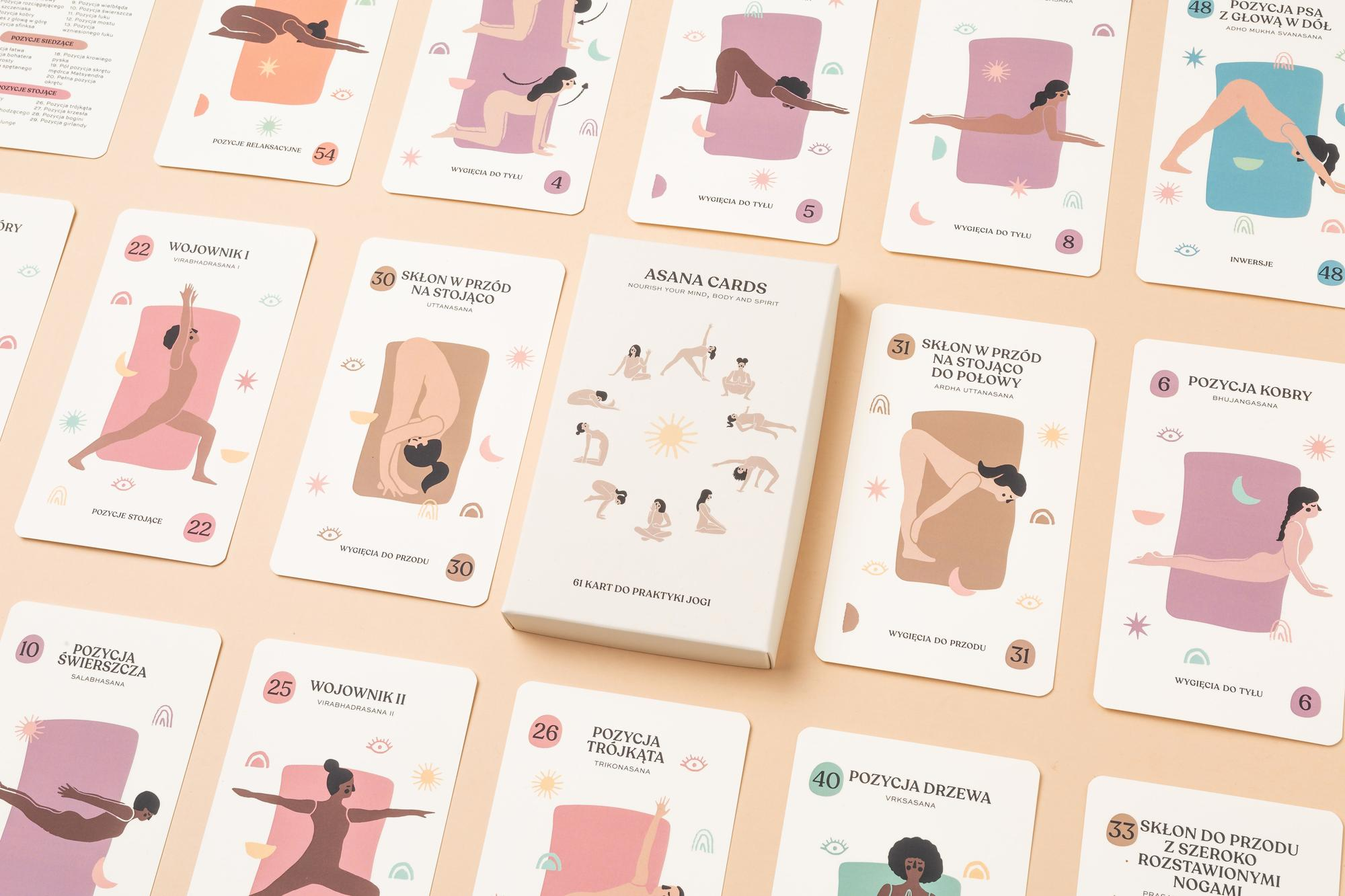 Asana Cards - język polski - Asana Creatives | JestemSlow.pl