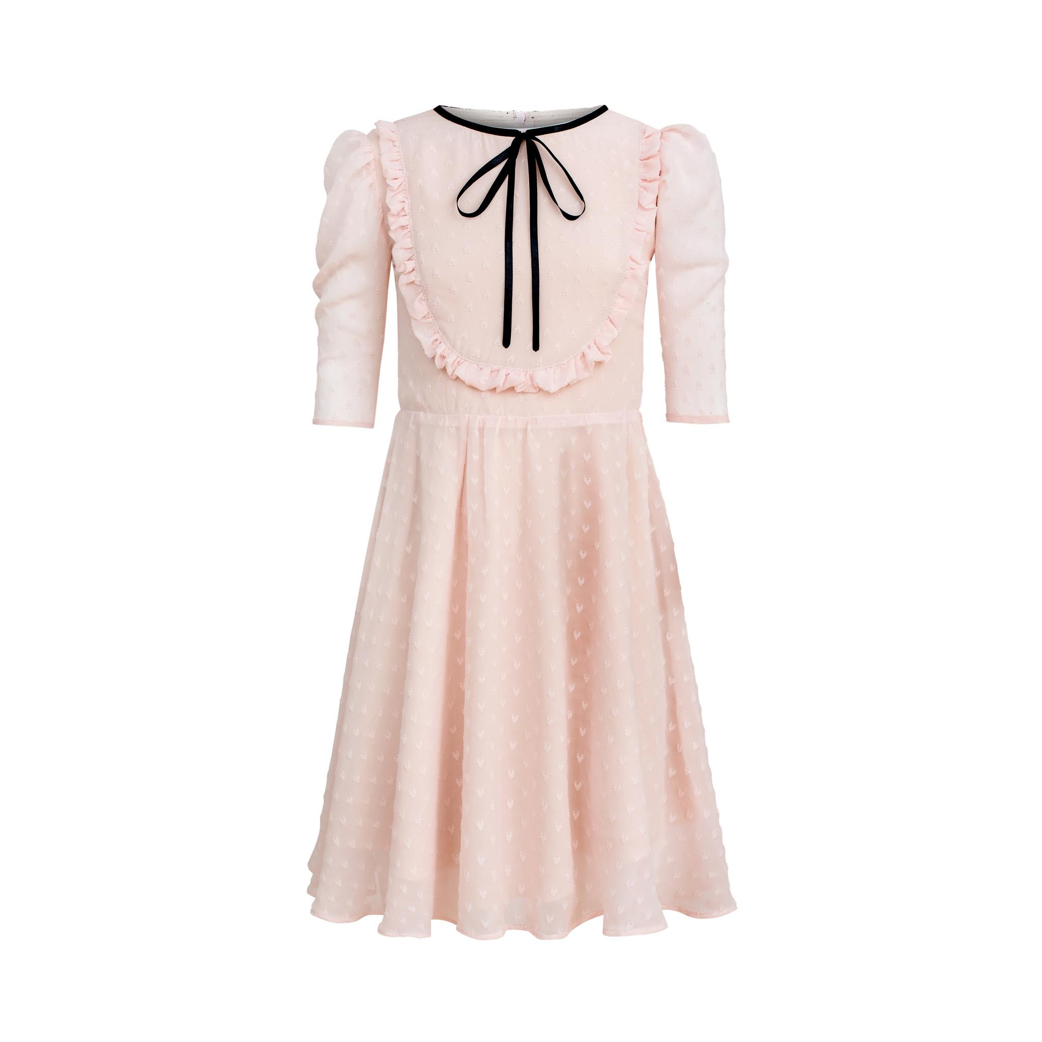 Sukienka pudrowy róż - Domino.little.dress
