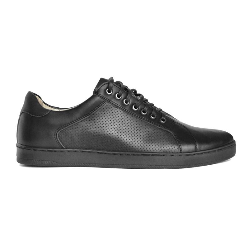 HUGO męskie czarne sneakersy - Fairma Ethical Design | JestemSlow.pl