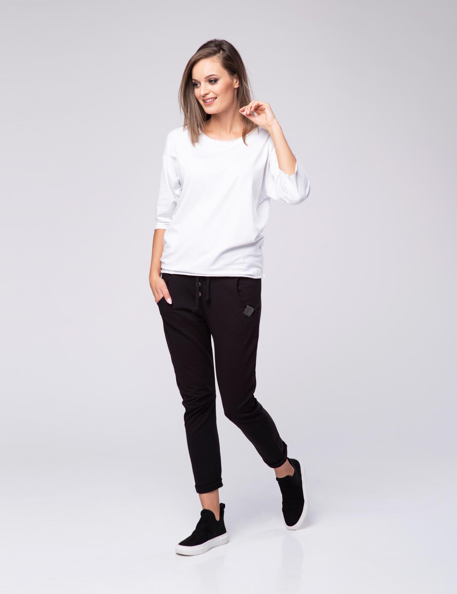 Spodnie z dżerseju Lazy Look 603 - LOOK made with Love | JestemSlow.pl