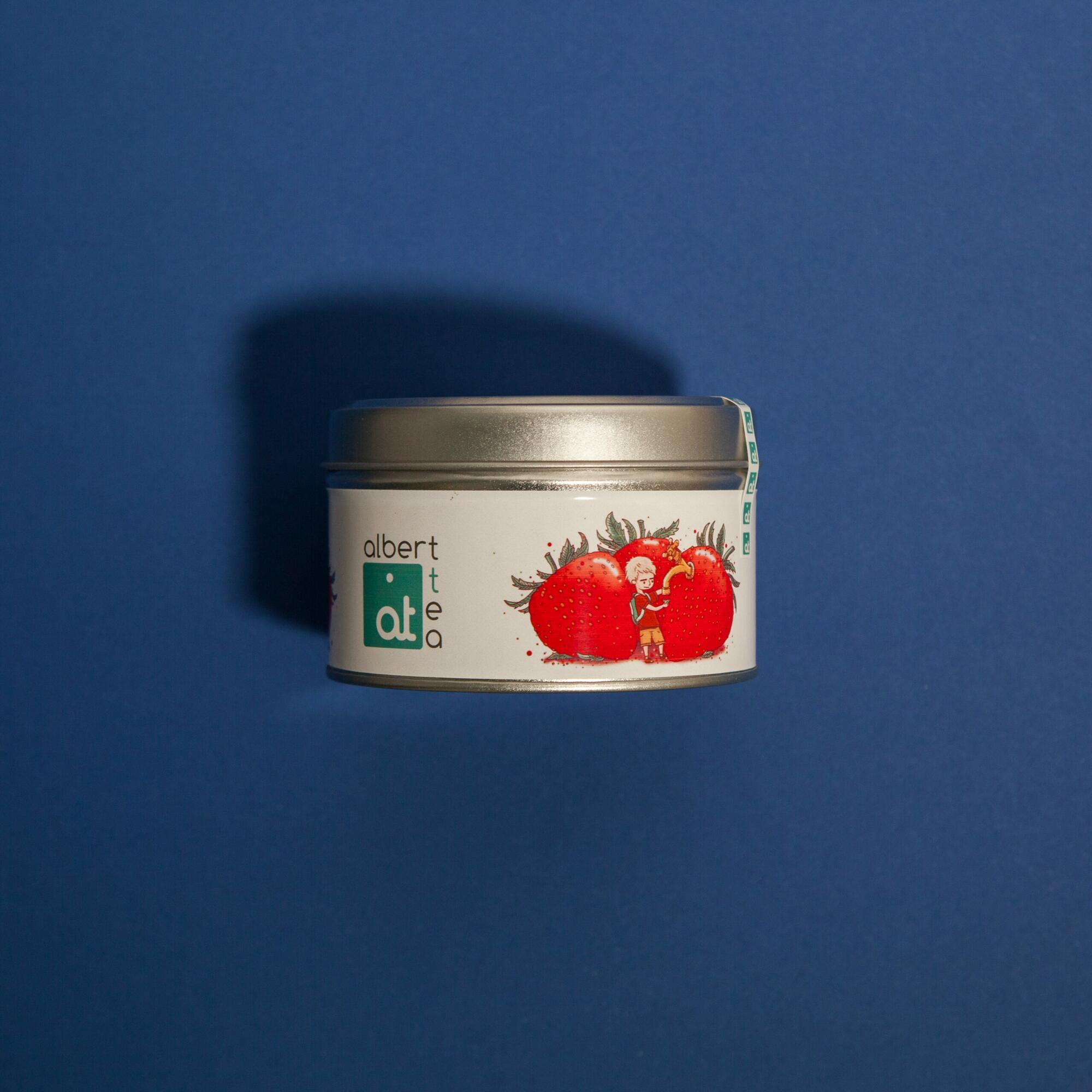 Albert Tea Strawberry Sensation 80g - Coffee Gang   JestemSlow.pl