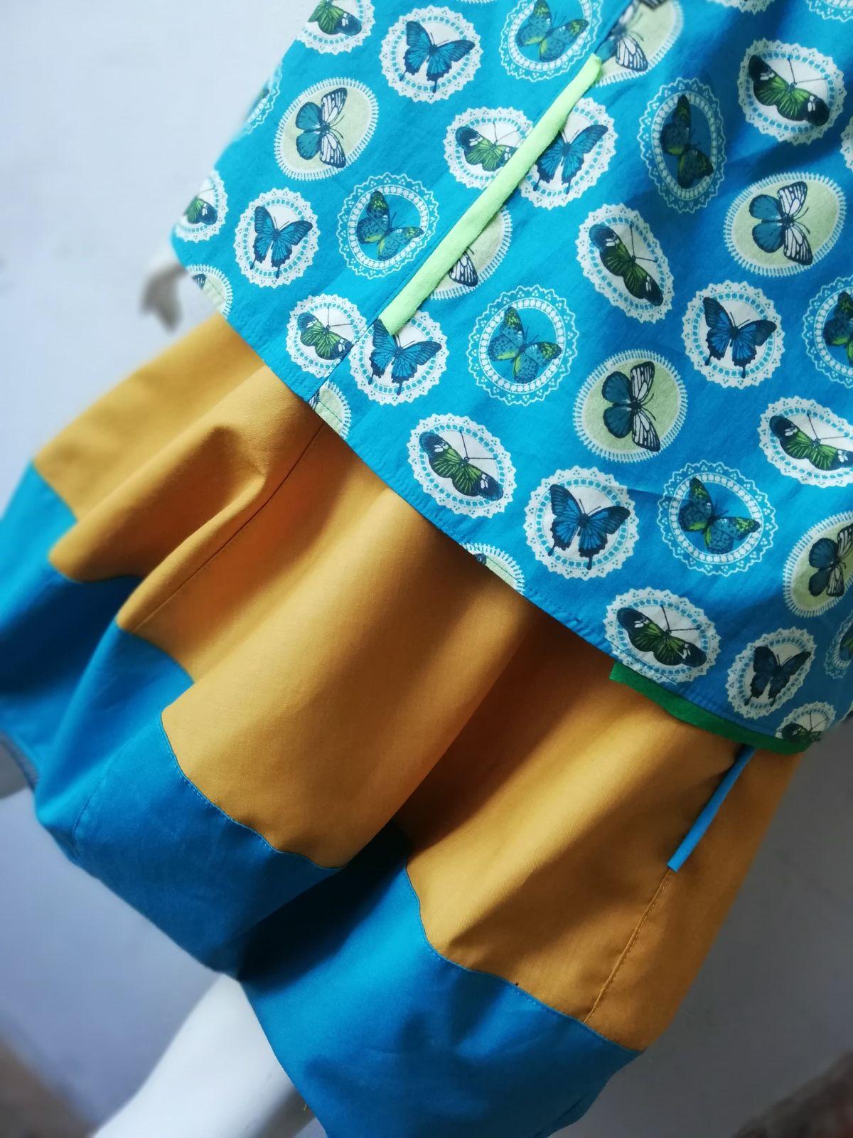 Krótka pomarańczowa spódnica - AgaMa