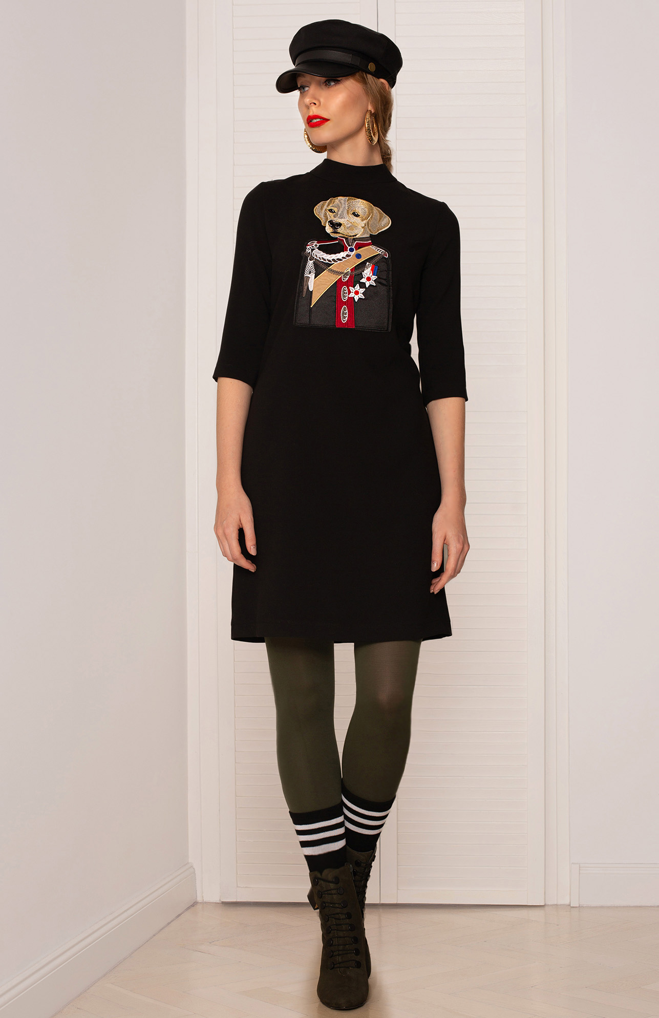 Sukienka z psem - Kasia Miciak design