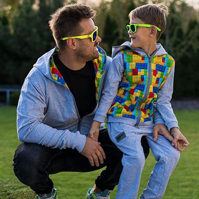 zestaw bluz lego - Tata + dziecko - taff.one