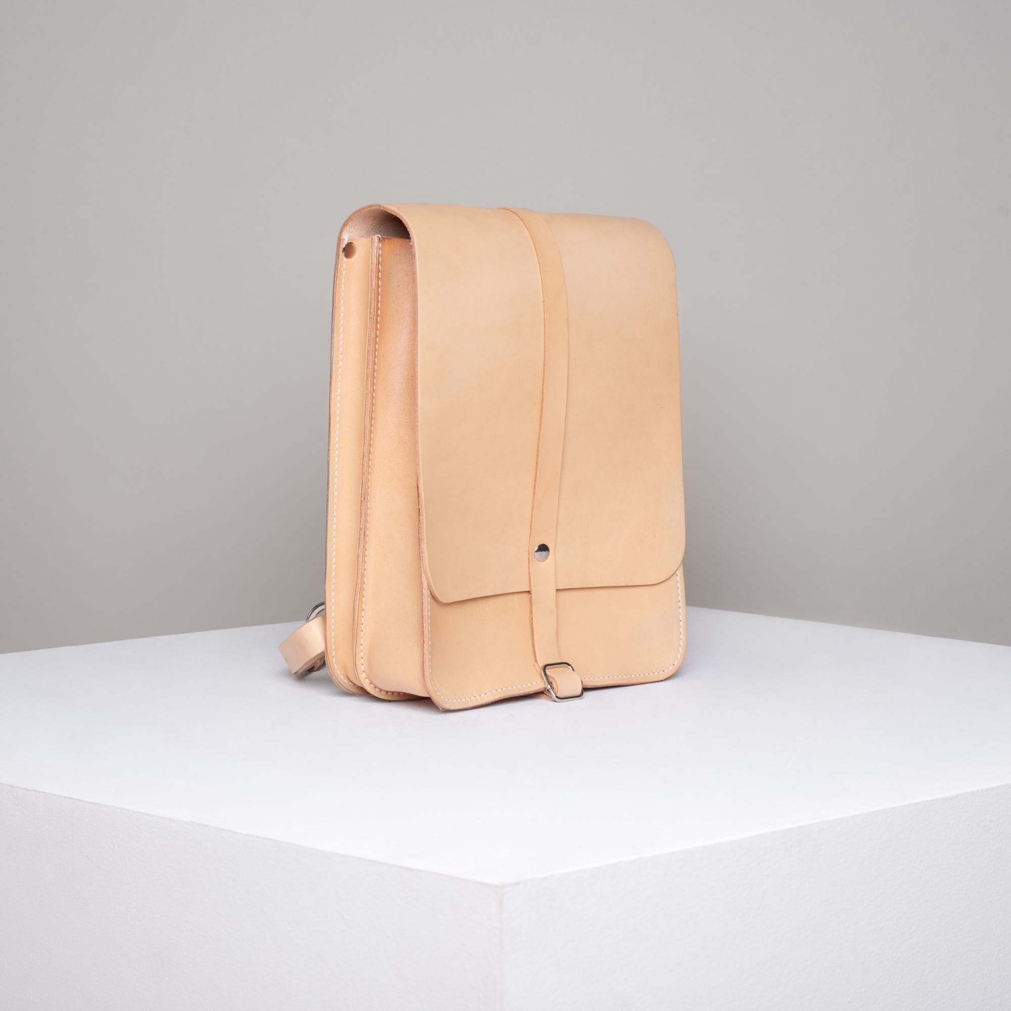 Skórzany plecak - Departament.Store