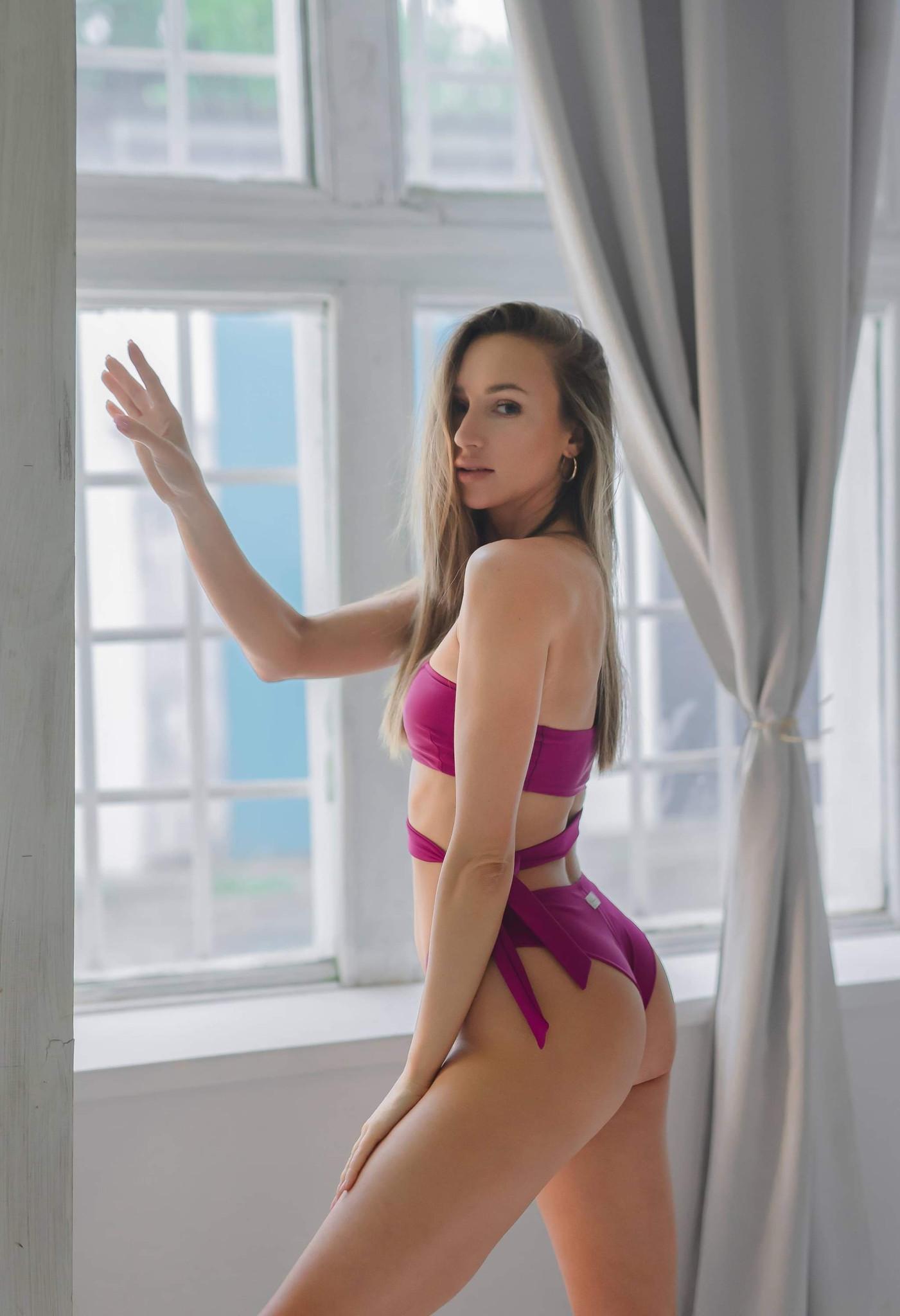 FIGI MAYA Deep amaranth - Wannabe Swimwear | JestemSlow.pl
