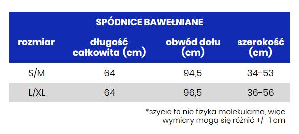 SPÓDNICA KOLOROWE PLAMY - spódnica rozkloszowana - Republic of Patterns