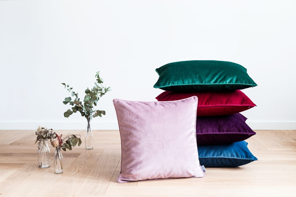 Poduszka dekoracyjna Dusty Pink 50x50 cm - We Love Candles&We Love Beds