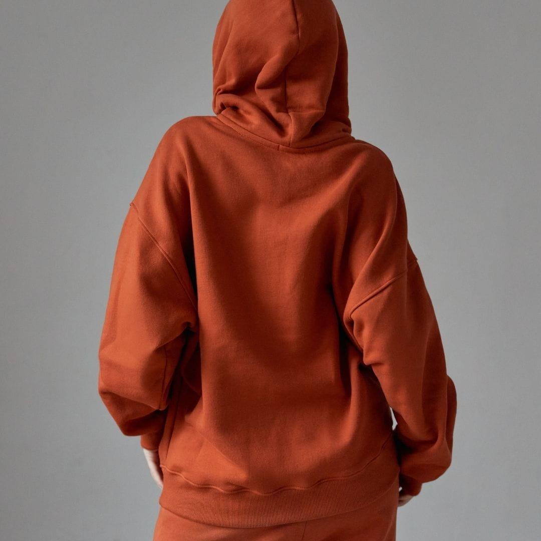 Bawełniana bluza damska oversize GINGER - Holystic | JestemSlow.pl