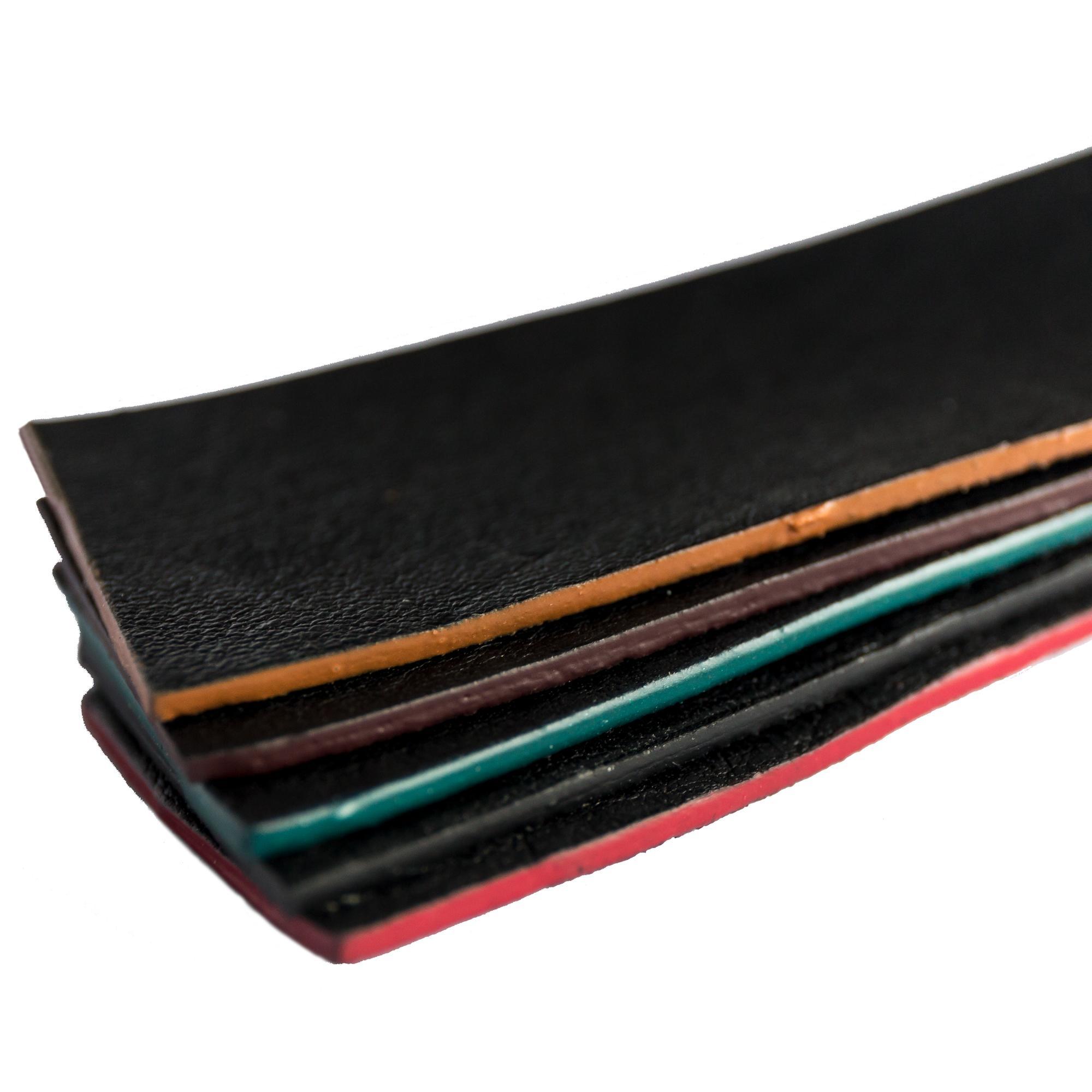 Skórzany MINI portfel na karty płatnicze - Alana