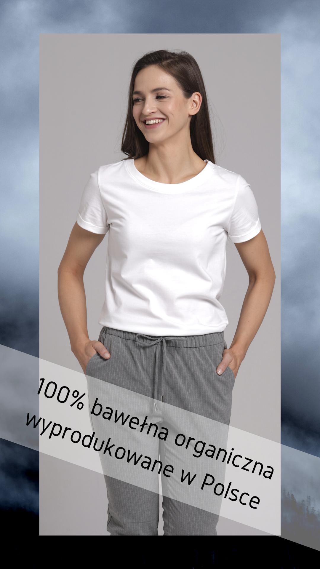 100% bawełna organiczna Nasz t-shirt został stworzony w 100% z bawełny organicznej. Ta której używamy posiada certyfikat GOTS. Oznacza to, że jej produkcja jest pod ścisłą kontrolą organizacji certyfikującej, dbającej nie tylko o aspekt ekologiczny, ale także o sprawiedliwość i bezpieczne warunki pracy ludzi zaangażowanych w proces produkcji. uszyte w Polsce Przygotowaliśmy ten produkt w Polsce - staramy się w jak największym stopniu realizować proces produkcji w naszym kraju. Uważamy, że wspieranie lokalnej gospodarki to ważny element pracy organicznej i społecznego zaangażowania. Każdy z naszych produktów jest ręcznie wykończony przez doświadczonych krawców z polskich zakładów. 160 g Gramatura to ilość materiału przypadająca na 1 metr dzianiny wyrażona w gramach. Do stworzenia tego produktu wybraliśmy bawełnę o wysokiej gramaturze, co czyni go bardziej trwałym i wytrzymałym. Naszym priorytetem jest satysfakcja użytkownika, który cieszy się naszymi rzeczami jak najdłużej bez konieczno
