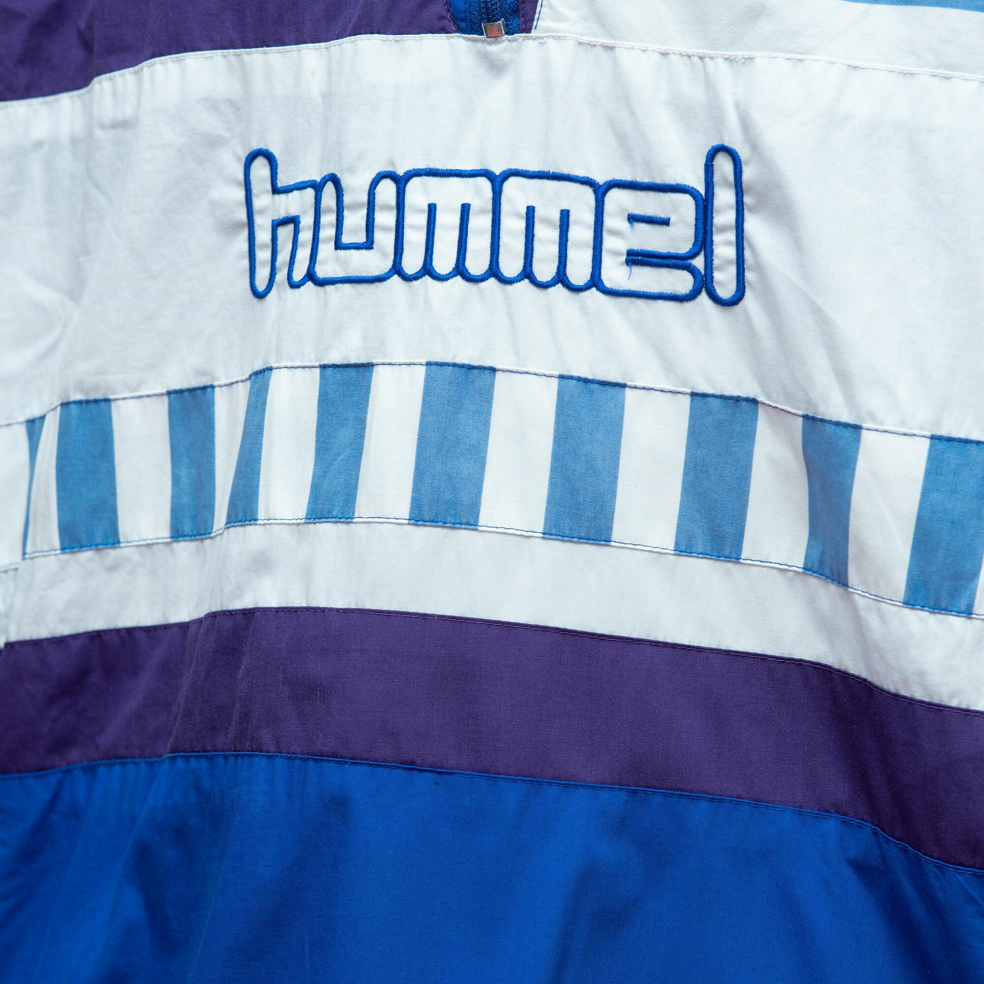 Niebieska bluza marki Hummel - KEX Vintage Store | JestemSlow.pl