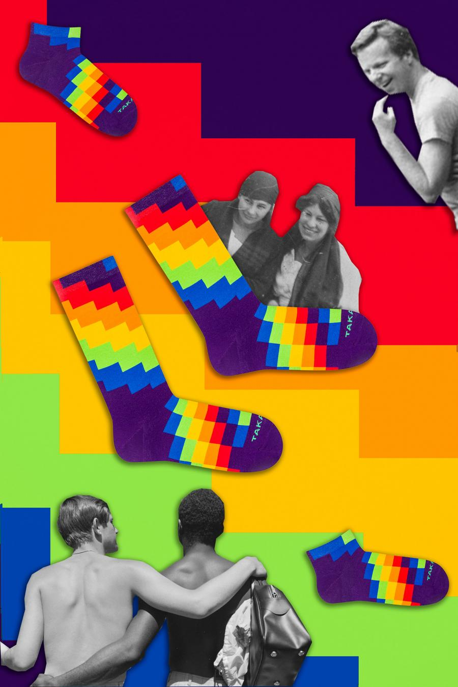 Kolorowe stopki - Tylna 99m1 - Takapara | JestemSlow.pl