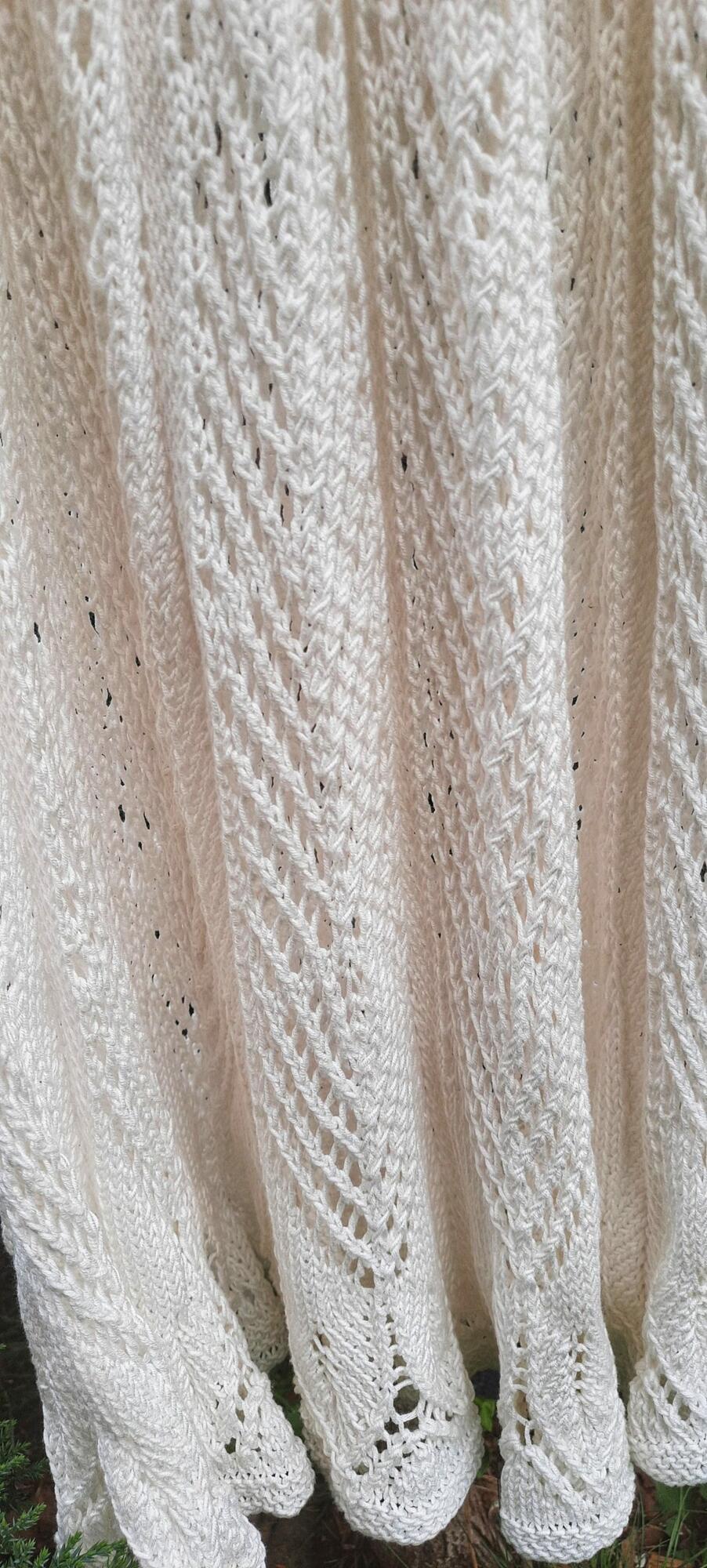 Spódnica robiona na drutach VAVLA PERLA - SYLVIA DARA SYLWIA DYDA | JestemSlow.pl