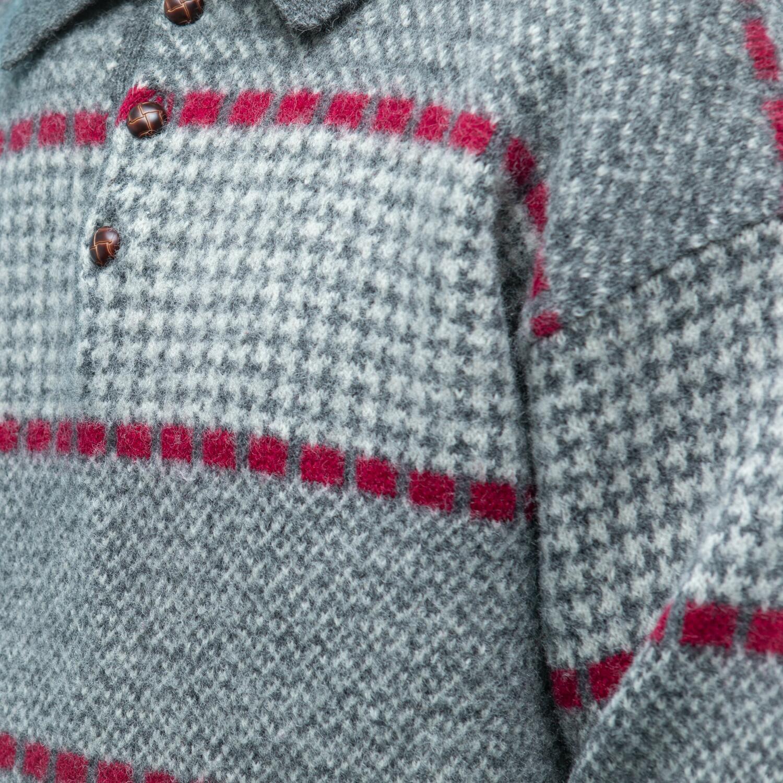 Sweter z wełny z kołnierzem - KEX Vintage Store | JestemSlow.pl