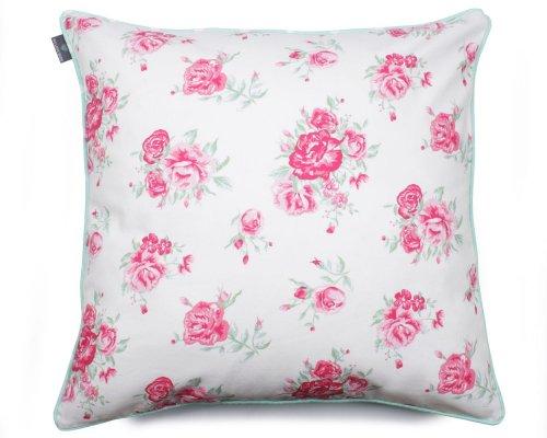 Poduszka dekoracyjna Roses Blue 60x60 cm - We Love Candles&We Love Beds | JestemSlow.pl
