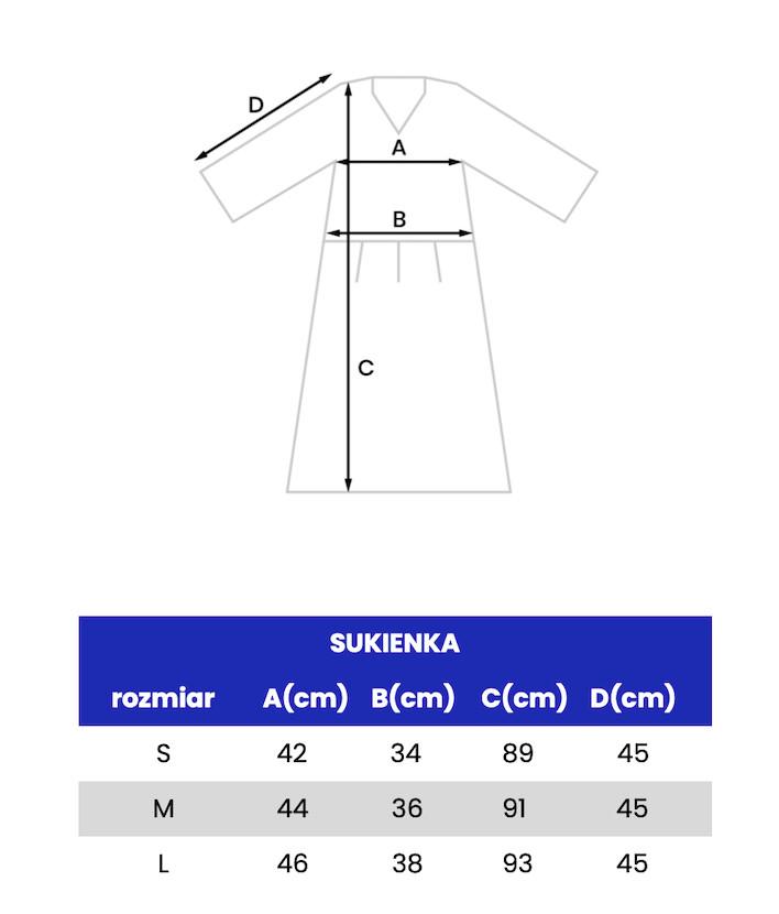 SUKIENKA KOLOROWE PROSTOKĄTY -oversize - sukienka z dekoltem V- sukienka zwiewna - Republic of Patterns | JestemSlow.pl