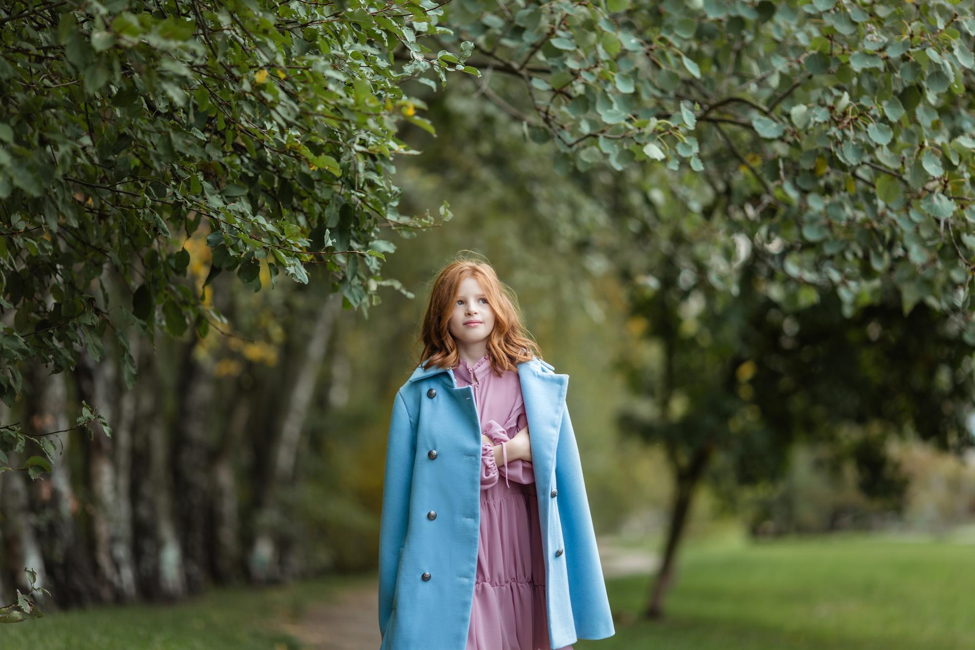 Płaszcz peleryna - Domino.little.dress