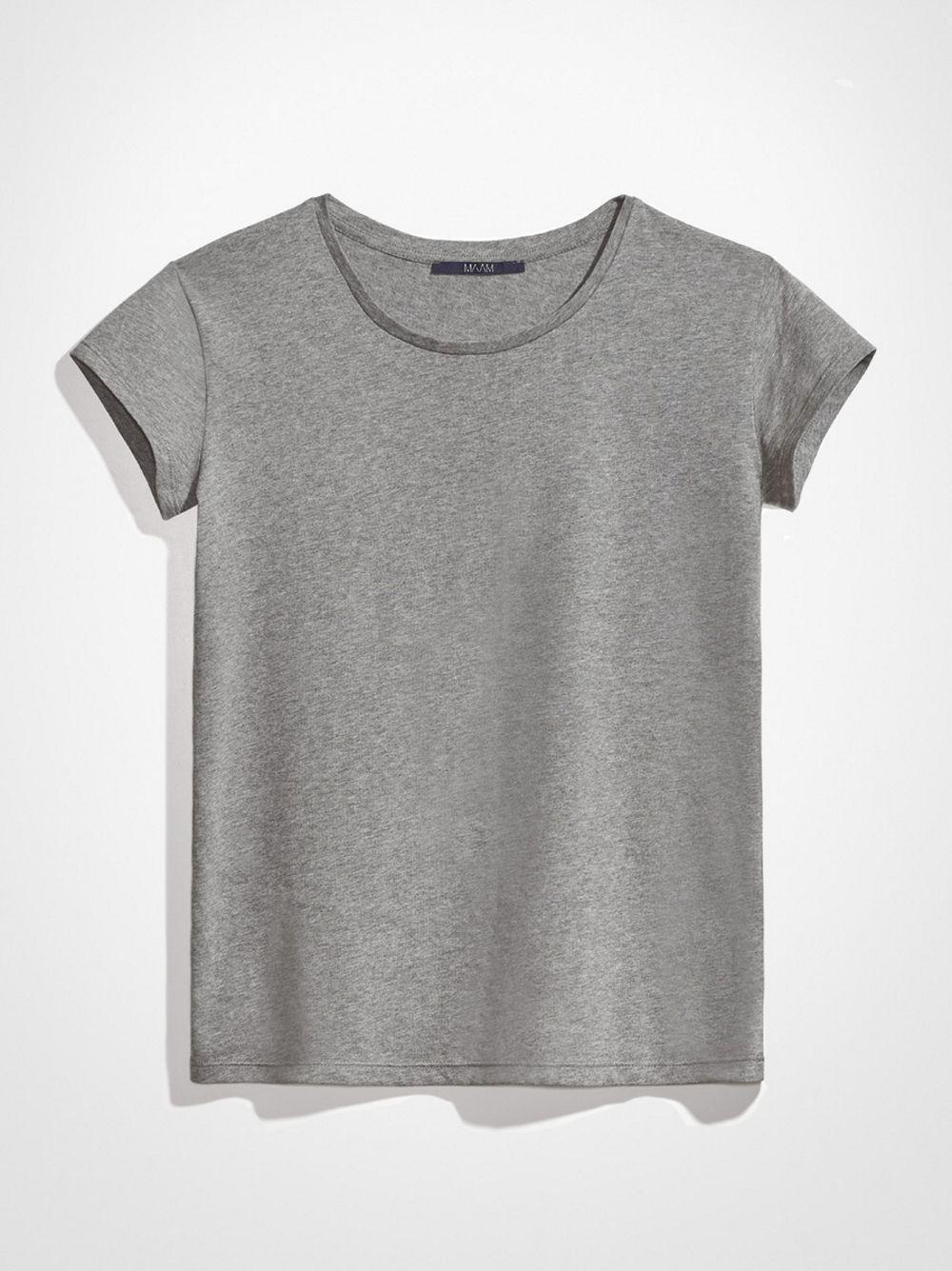Szary T-shirt MAAM 4º - MAAM