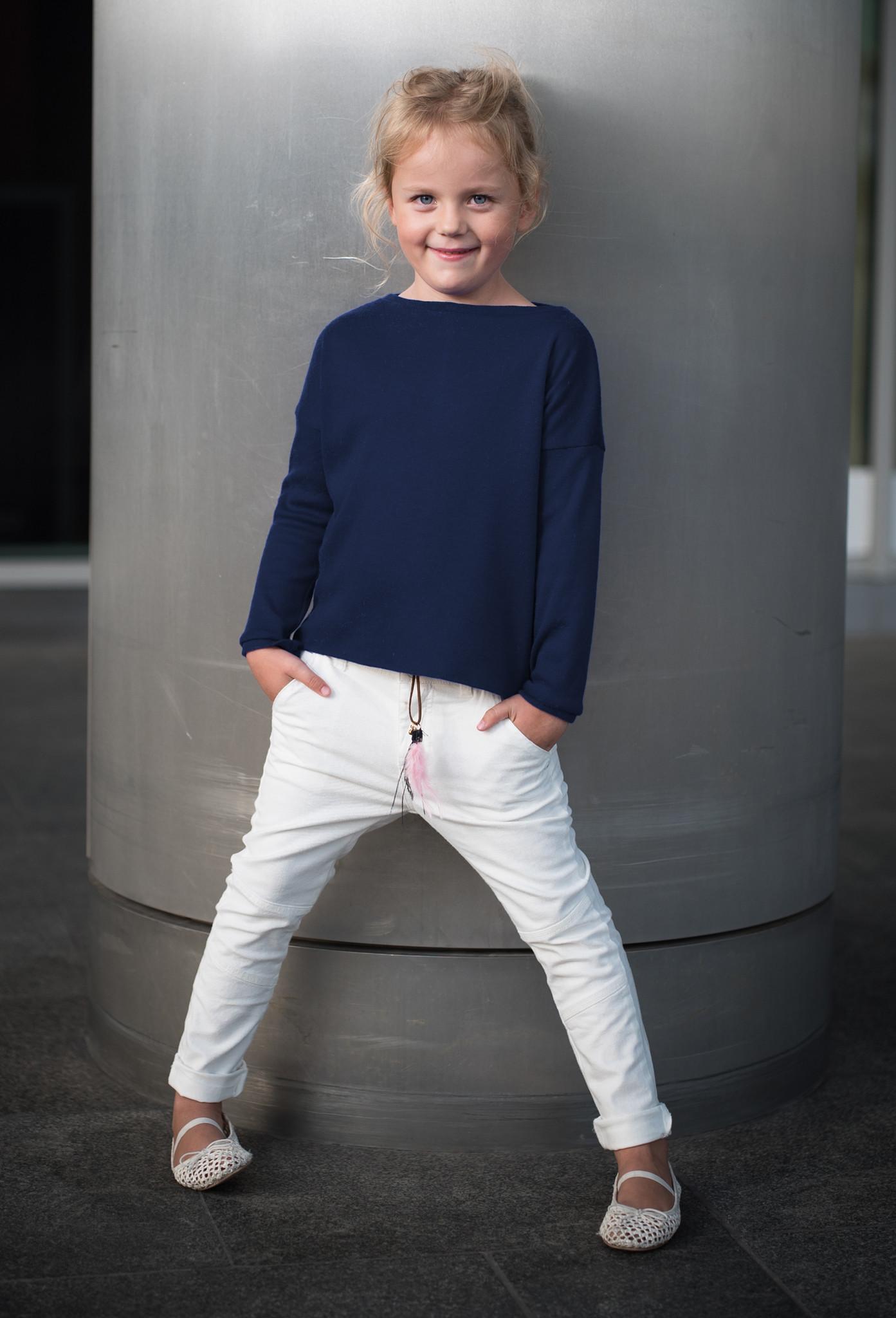 Sweter Pudełkowy KIDS - The Same
