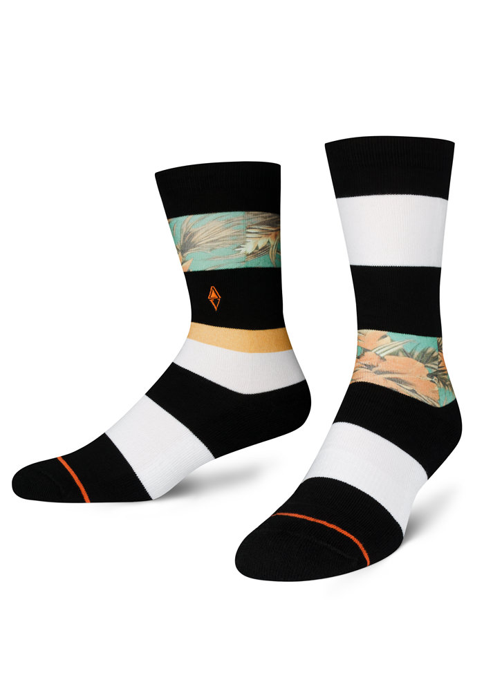 Kolorowe skarpetki męskie Rua VA Socks  polski projektant - VA Socks