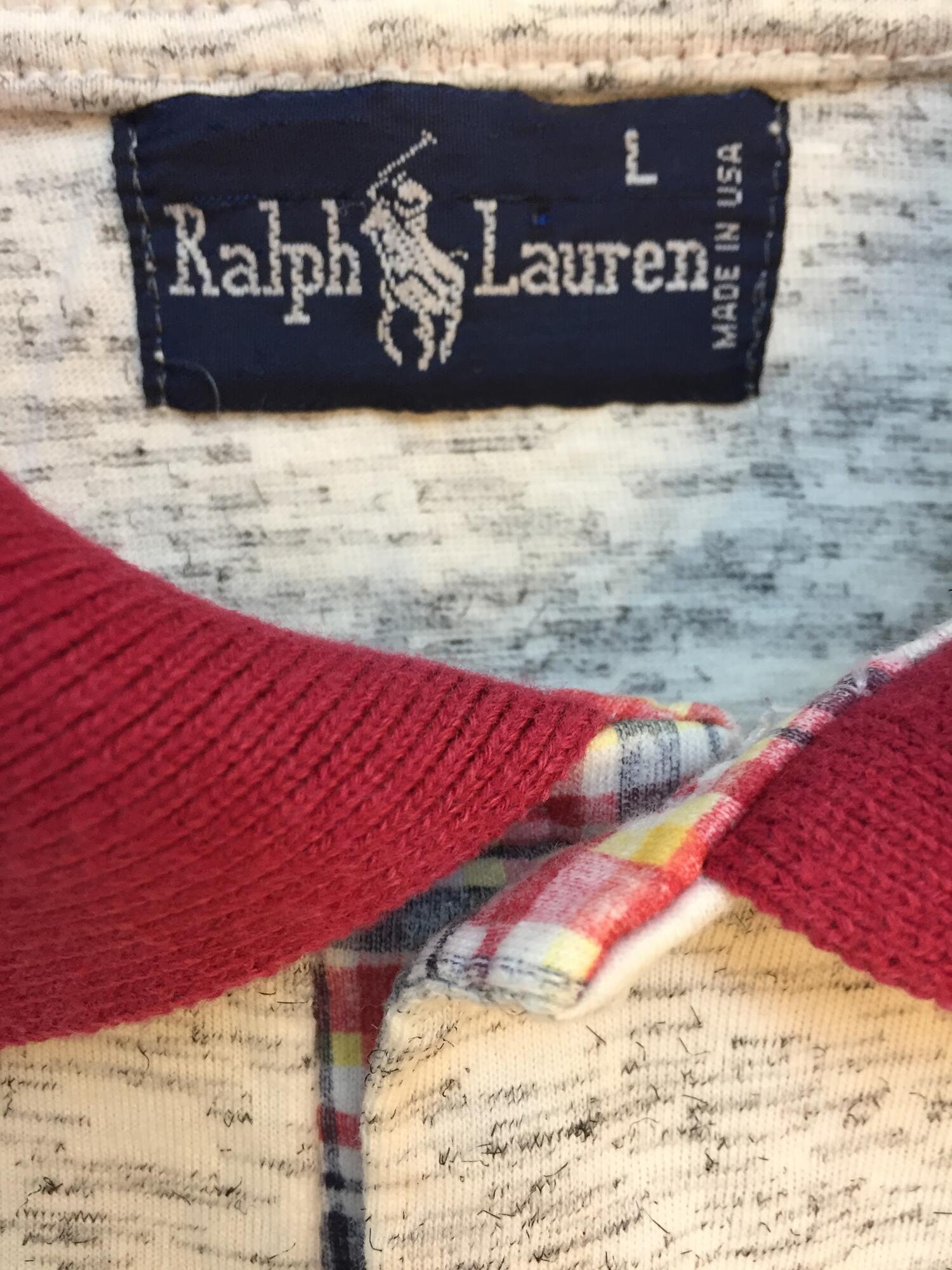 T-Shirt POLO Ralph Laurent Vintage - Vintage Store   JestemSlow.pl