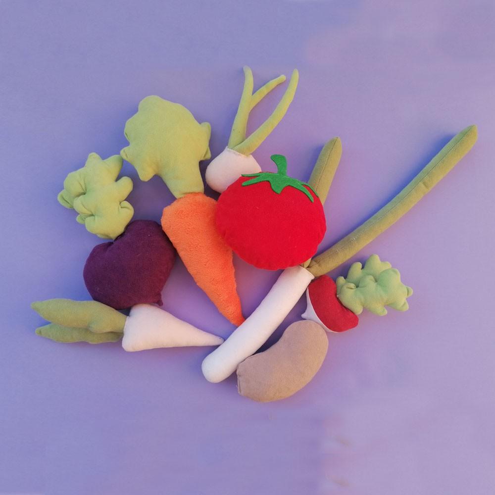 Ogródek duży z warzywami - Bejbik Books