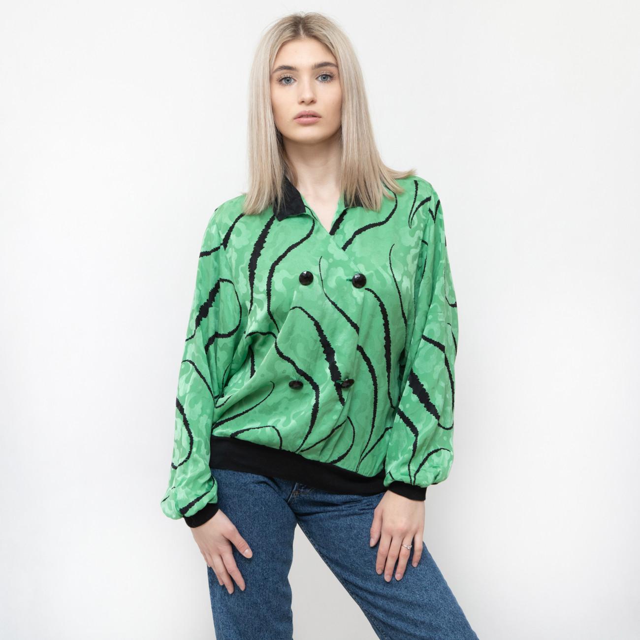 Jedwabna koszula Valentino - KEX Vintage Store | JestemSlow.pl