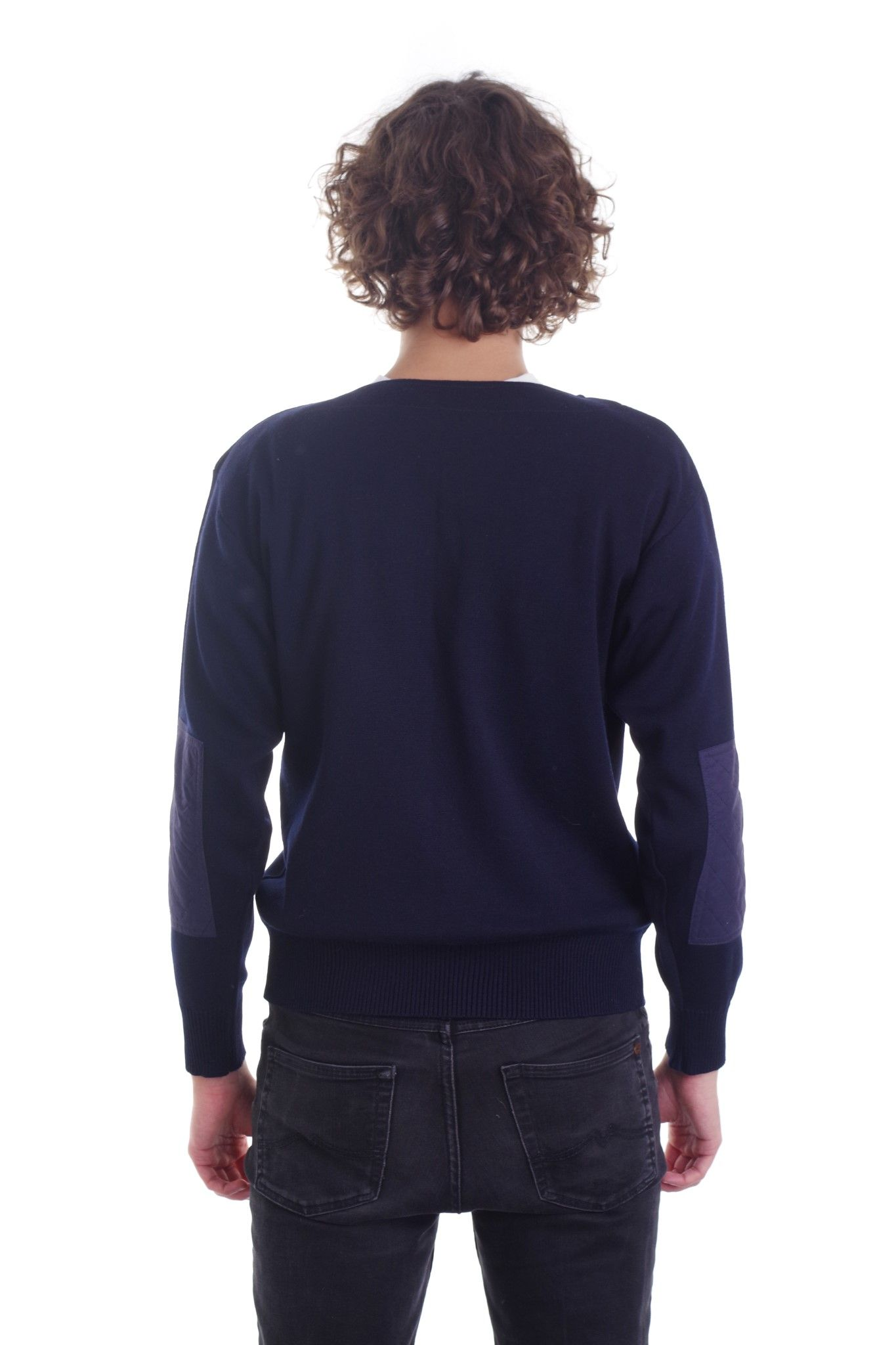 Sweter z zamkiem marki Paul and Shark Yachtin - KEX Vintage Store | JestemSlow.pl