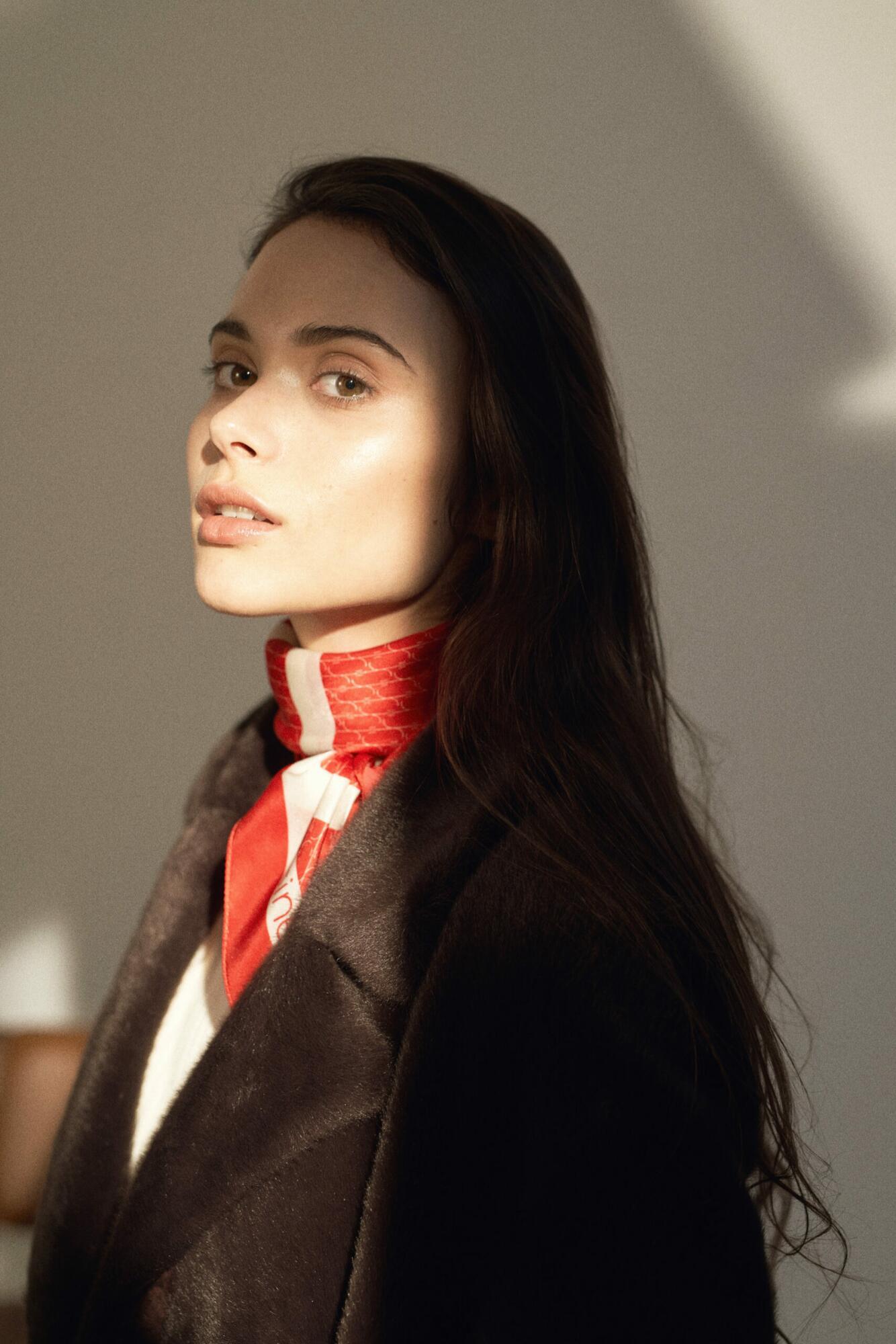 Jedwabna apaszka Sine Silk   RED - Sine Silk   JestemSlow.pl