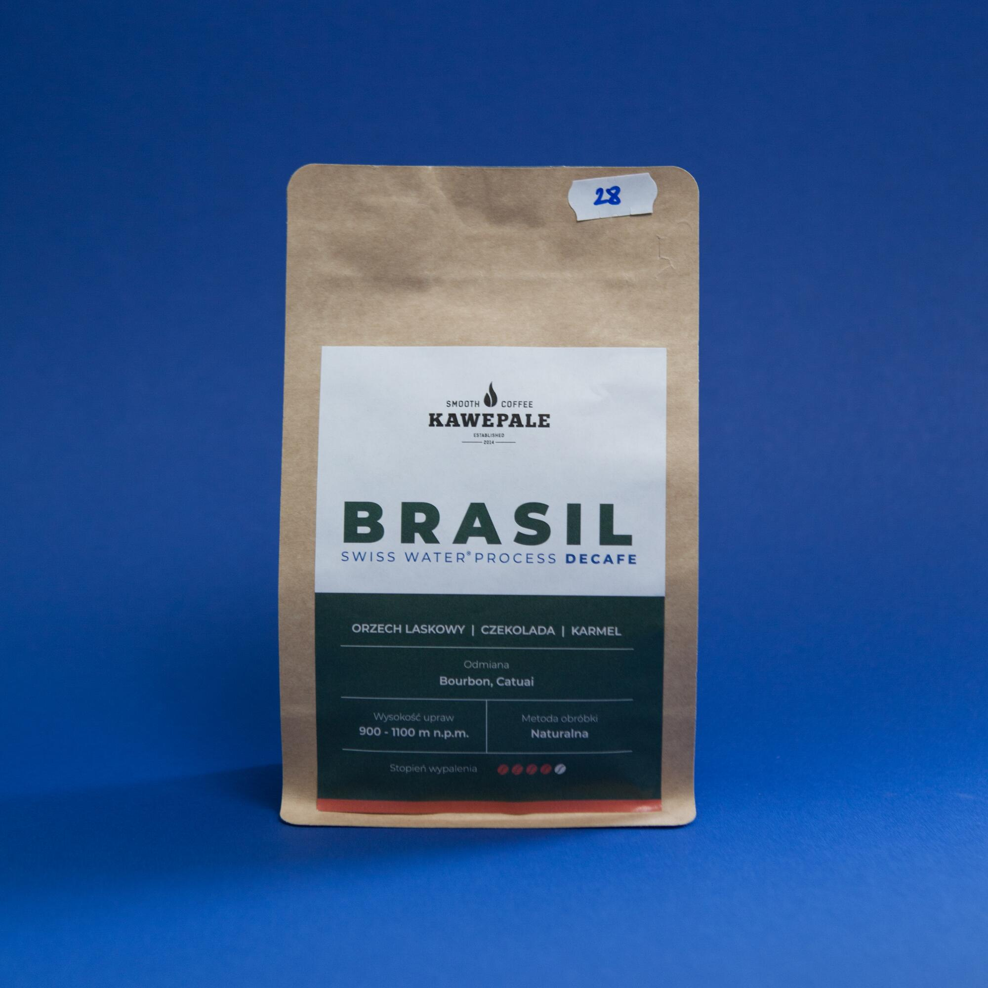 KawePale Brasil Decafe Swiss Water Process 250g - Coffee Gang | JestemSlow.pl